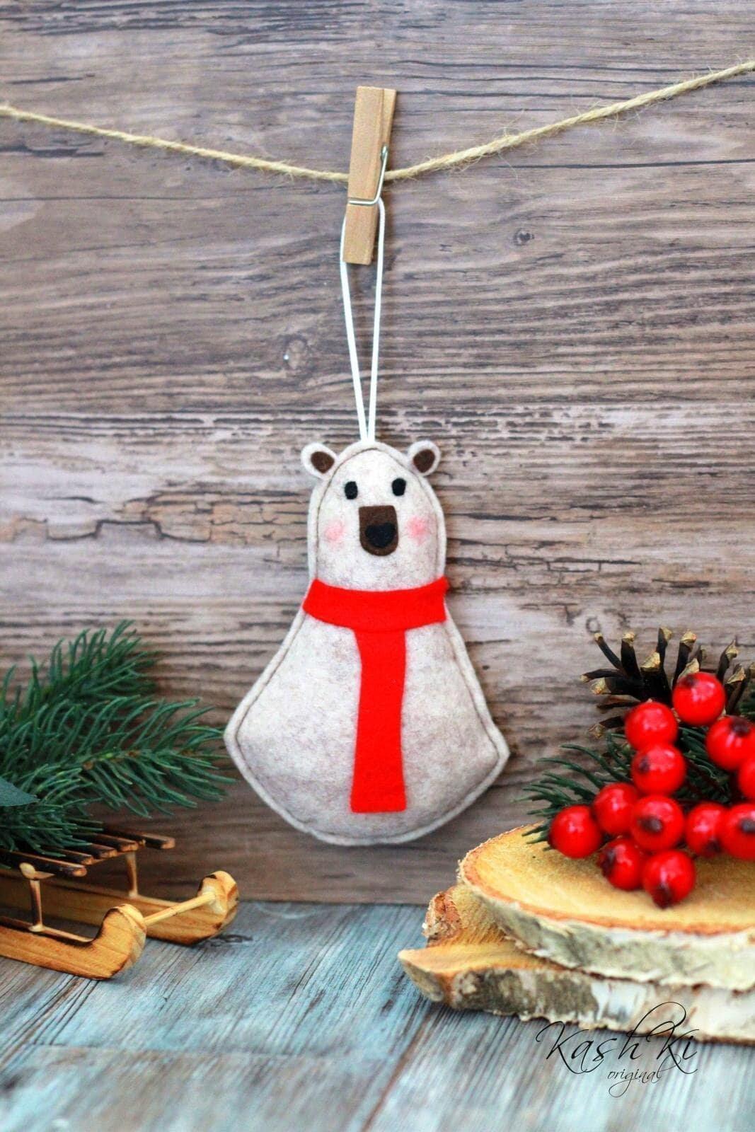 Ručně vyráběné ozdoby pro kouzelné Vánoce