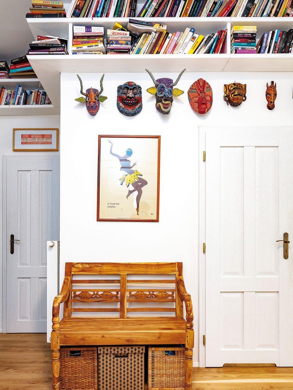 Venkov i exotika v pražském činžovním domě