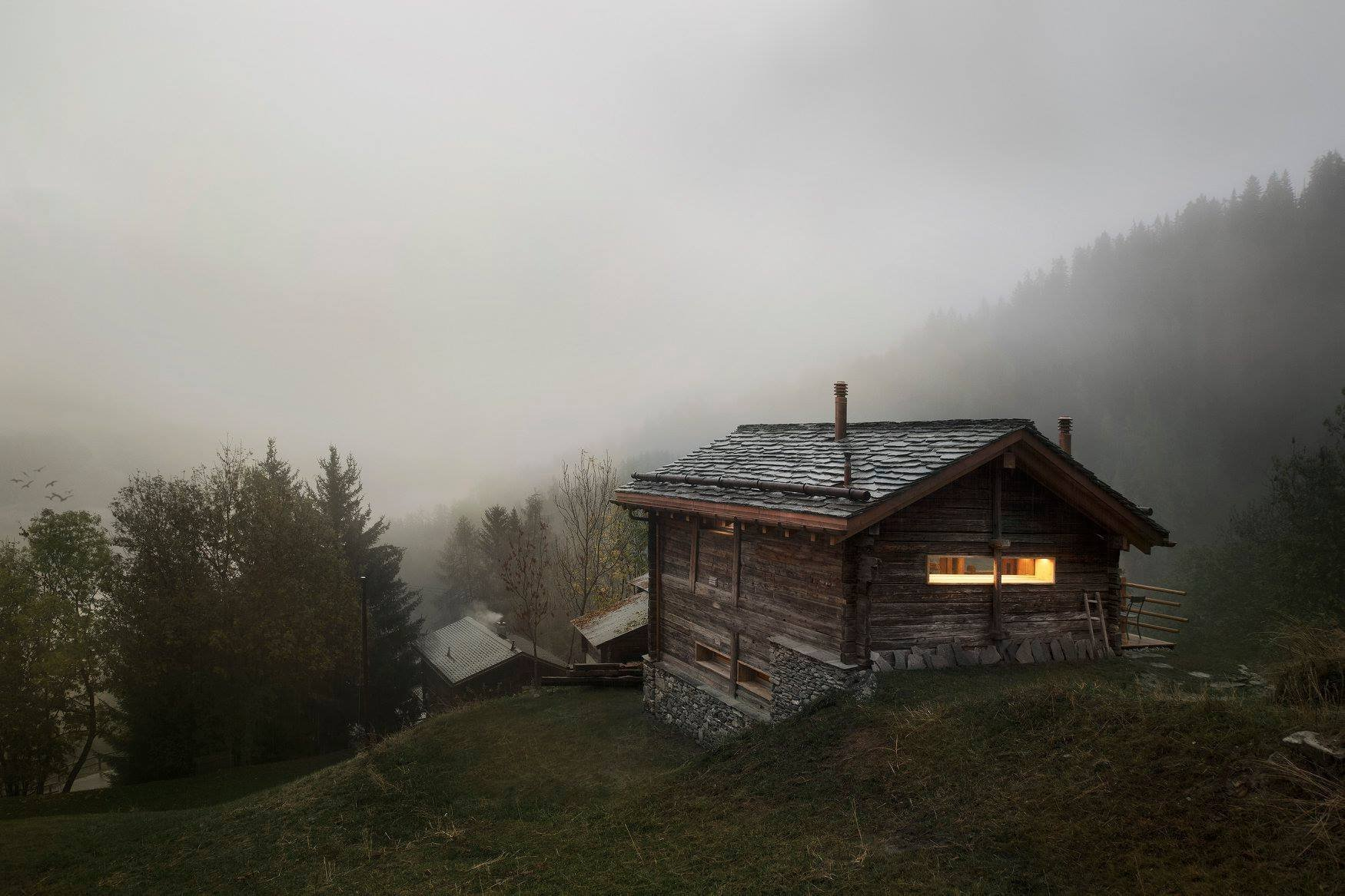 Kompletní proměna horské chaty
