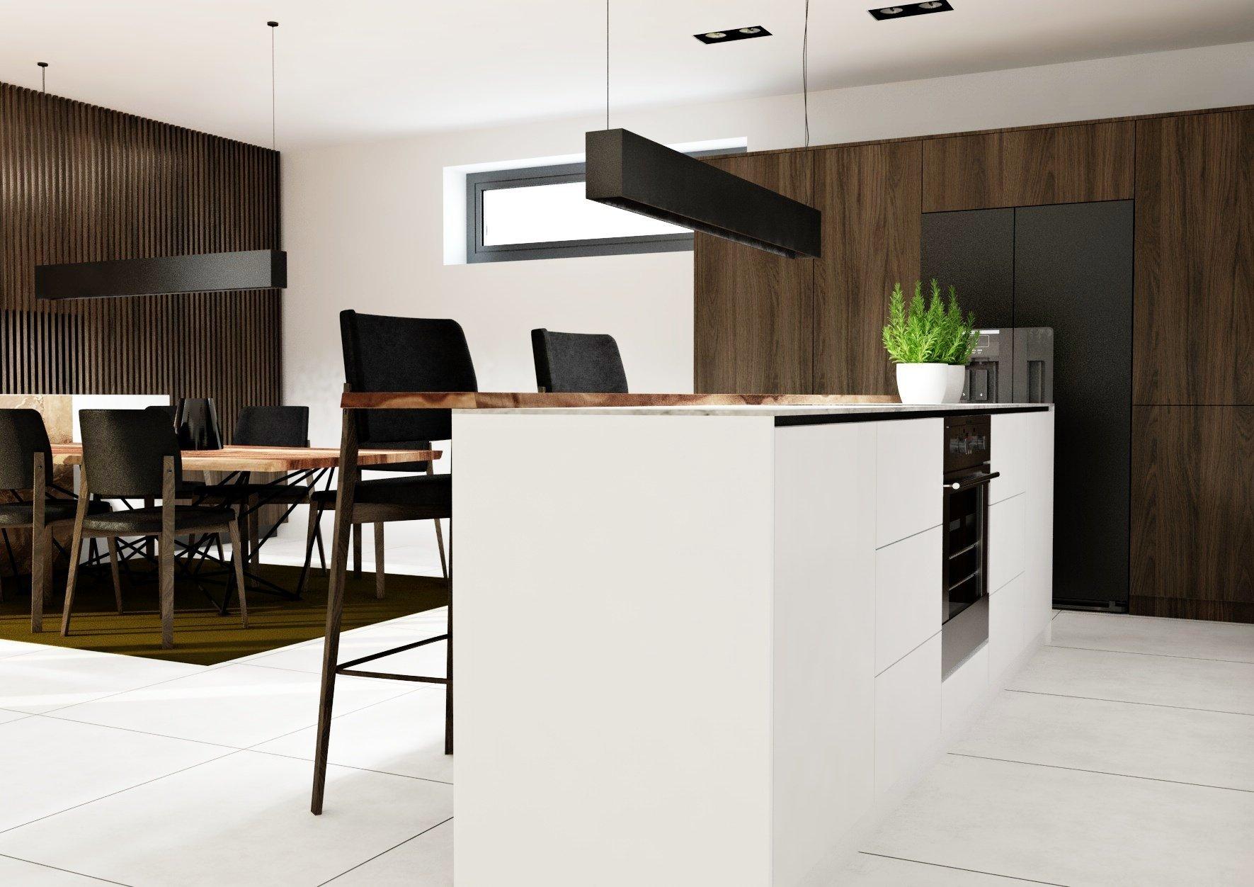 Predstavujeme jedinečný návrh rekonštrukcie interiéru rodinného domu v Senci. Návrh sa nesie v duchu elegancie farieb, kvalitných materiálov a luxusného dreva.…