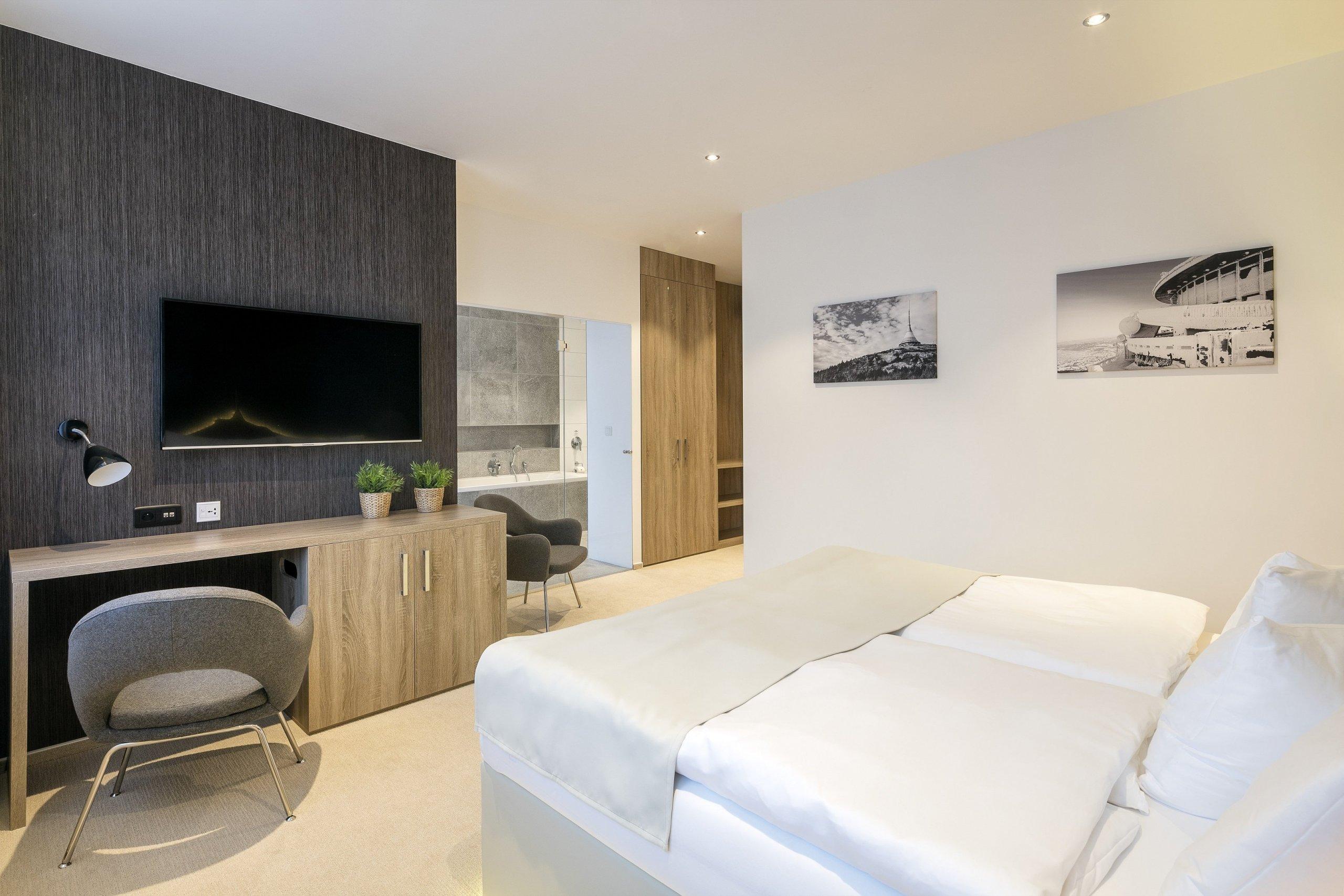 """Pokoj 201 s názvem """"Kráska severu"""" je jedním z designových pokojů v Pytloun Grand Hotelu Imperial Liberec"""