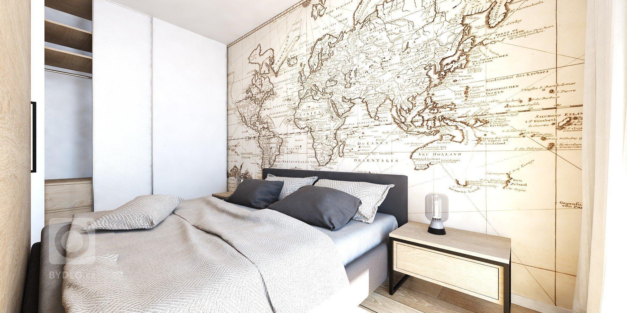 Mladistvý interiér s príjemnou atmosférou a jemnými prvkami industriálneho štýlu sme opäť hravo navrhli do malometrážneho bytu v projekteSlnečnice.