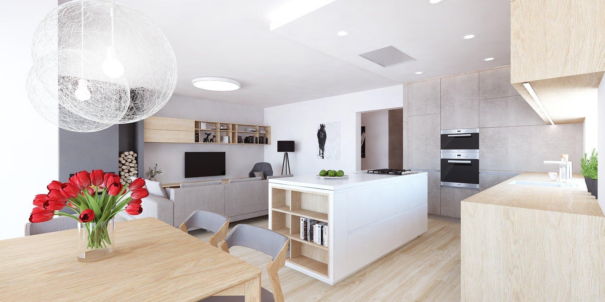 Moderný RD s minimalistickým nádychom