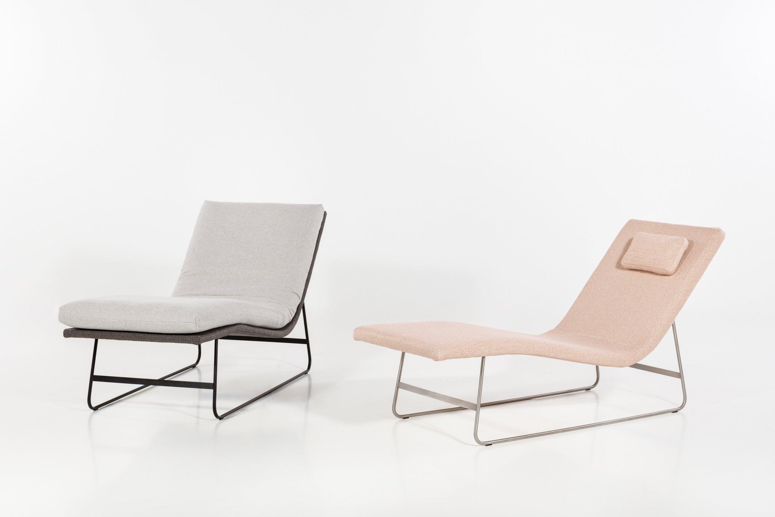 Chaise Longue Pureje nadčasová lenoška křehkých tvarů, vinteriéru působí lehce a vzdušně. Její pomyslná minimalistická vlnka může přinášet pohodlí…
