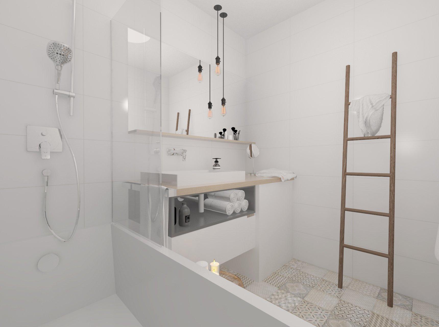 Jednoduchý dizajn nábytku je nosným prvkom tohto interiéru,aj napriek menšej podlahovej ploche priestor pôsobí veľmi vzdušne. Svetlosť priestoru umocňuje…