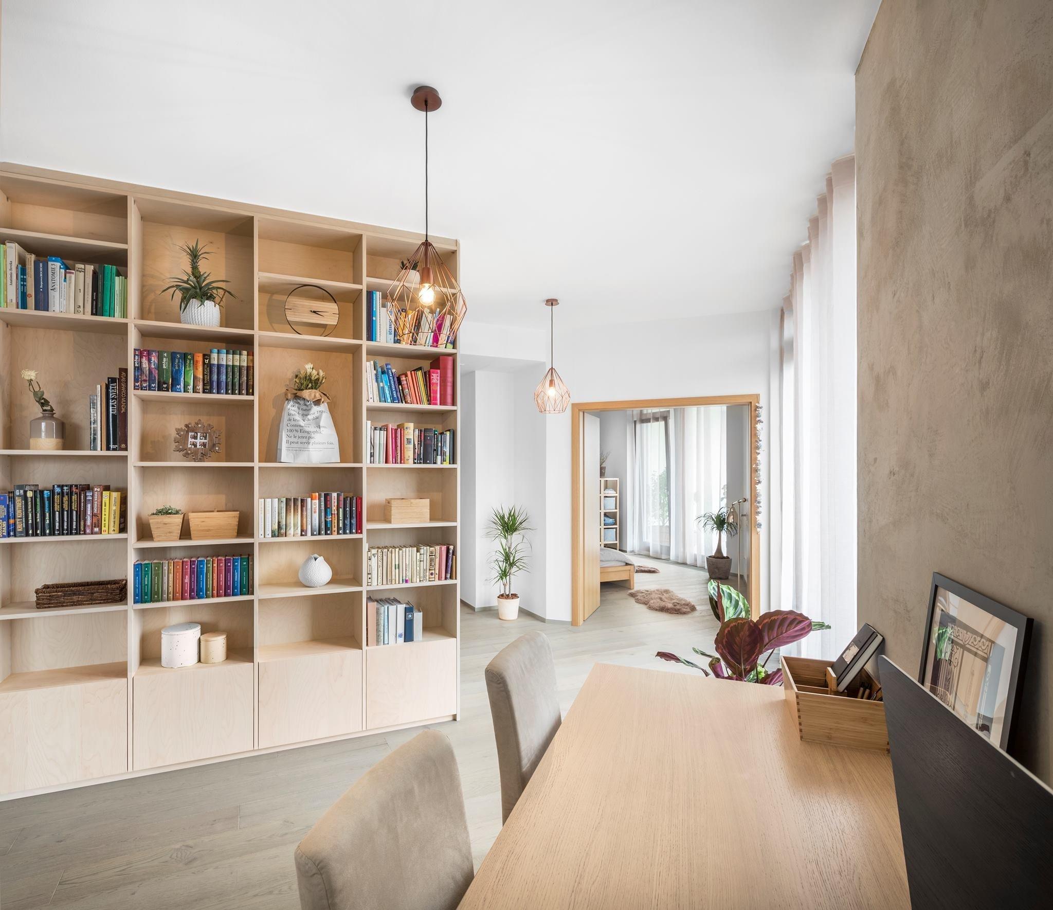 Výroba nábytku našimi truhláři podle návrhu bytového architekta