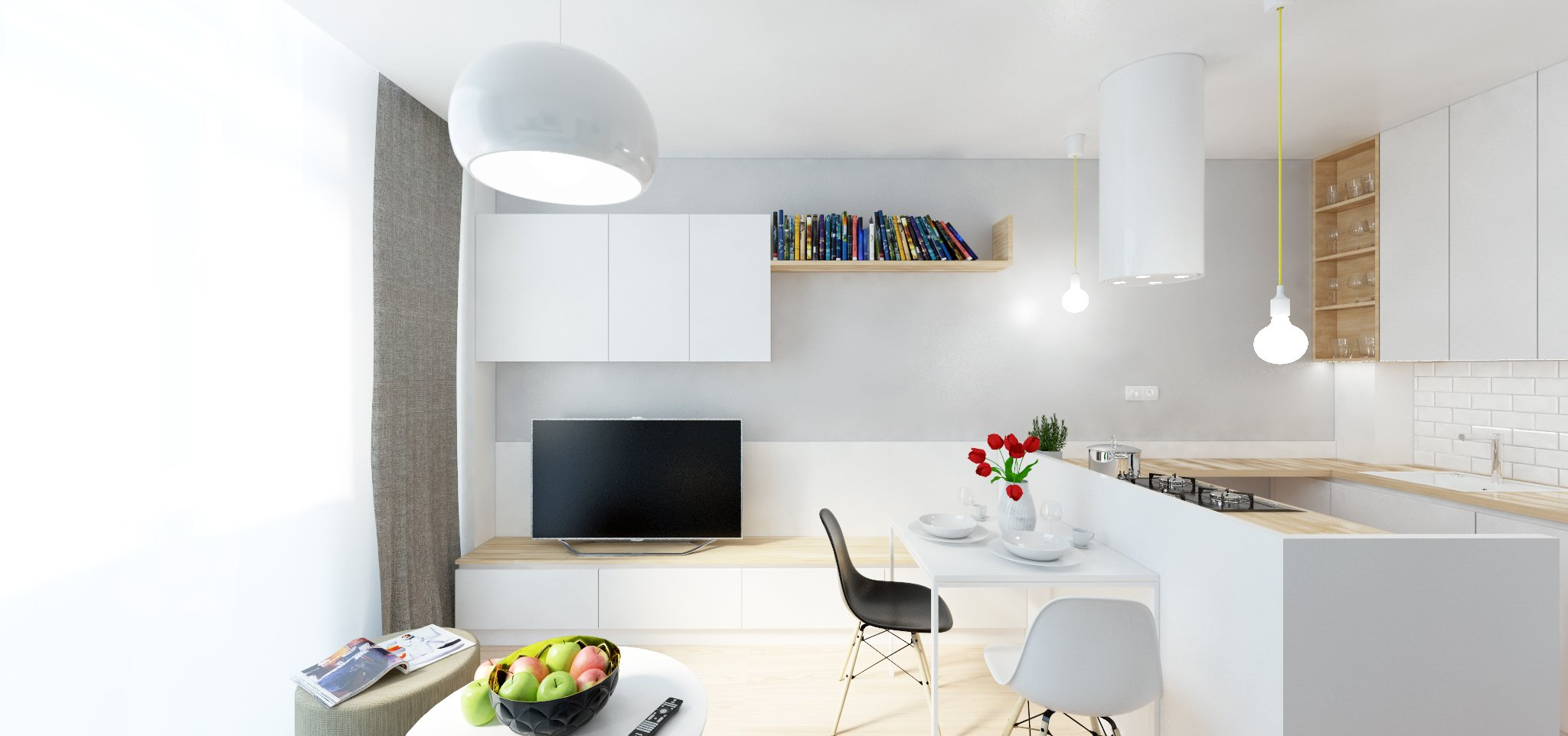 Hravý, útulný a originálny! Byt v Centre Bratislavy s minimálnou plochou je rekonštrukcia bytu s úplnou zmenou dispozície. Pôvodná nefunkčná dispozícia 1…