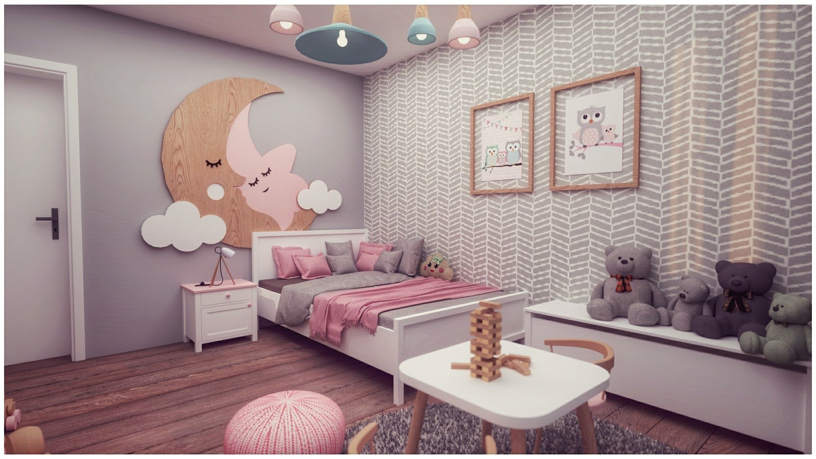 Detská izba je vždy také malé kráľovstvo. Tentokrát mu bude vládnuť malá princezná, ktorej sme návrhom spravili veľkú radosť... :-)