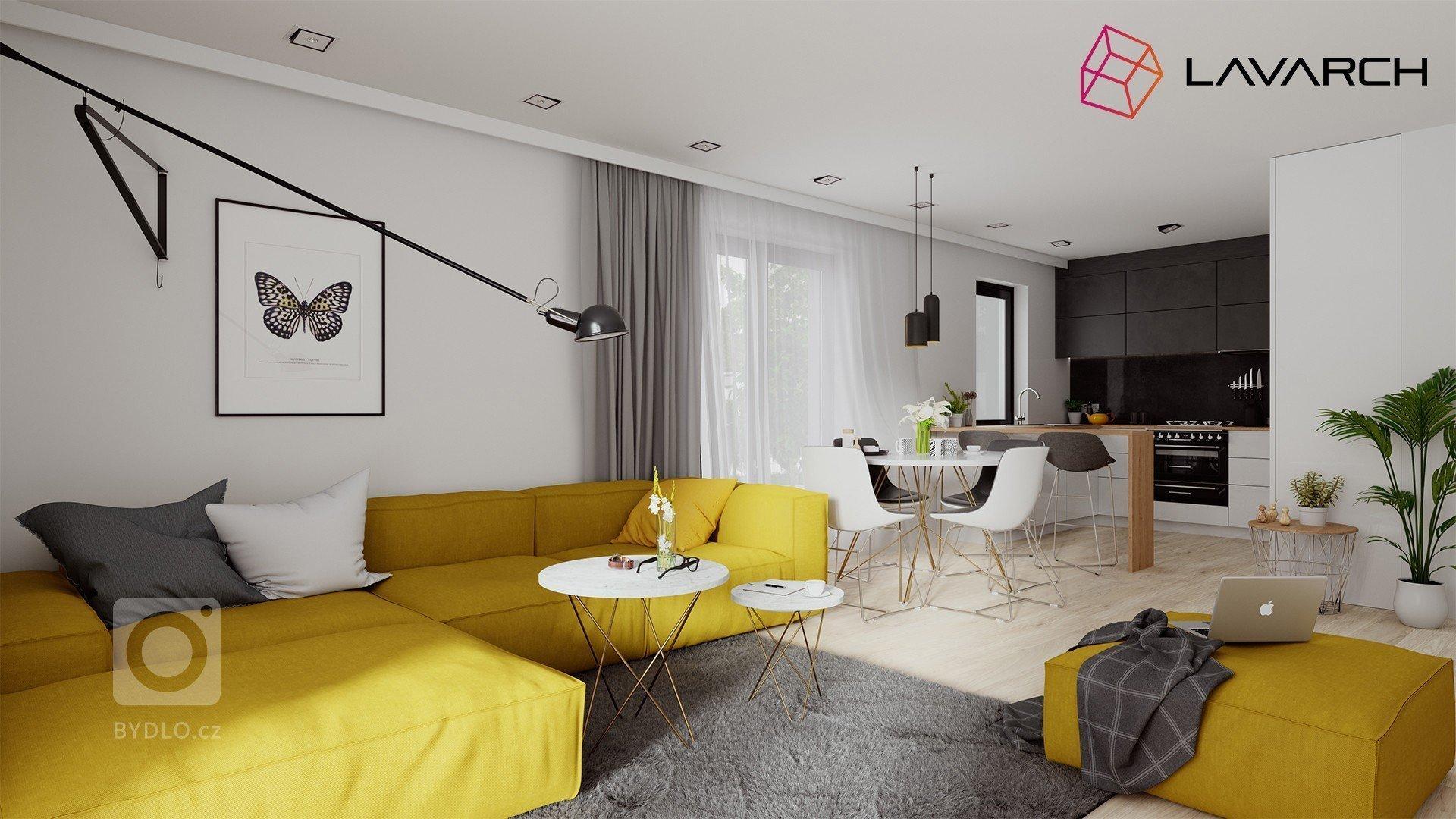 Projekt interiéru sme sa snažili navrhnúť ako tvarovo čistý a funkčný. Interiér je svieži a jednoduchý, ladený vo svetlých tónoch, s kontrastným použitím žltej…