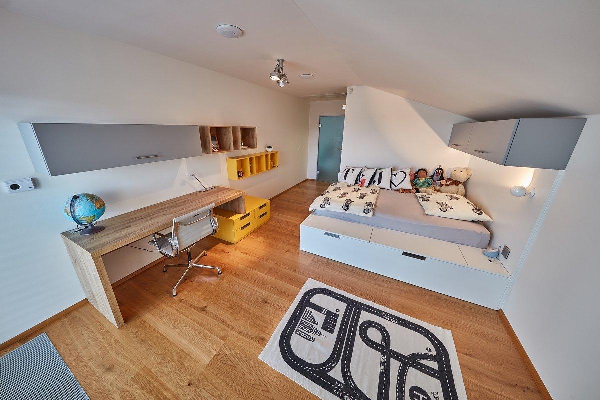 Studenský pokoj s šatnou