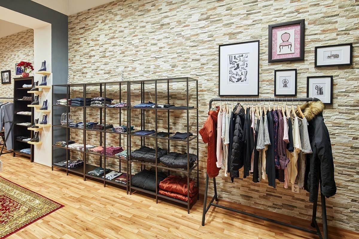 Obchod s luxusním oblečení