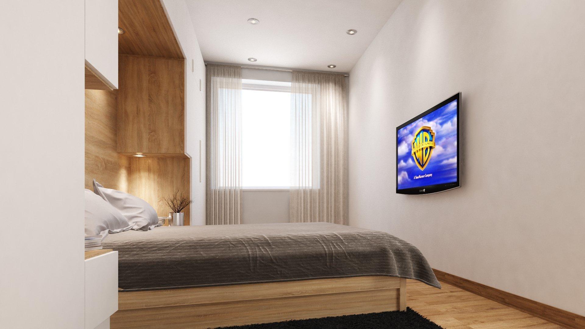 Ložnice s úložnými prostory