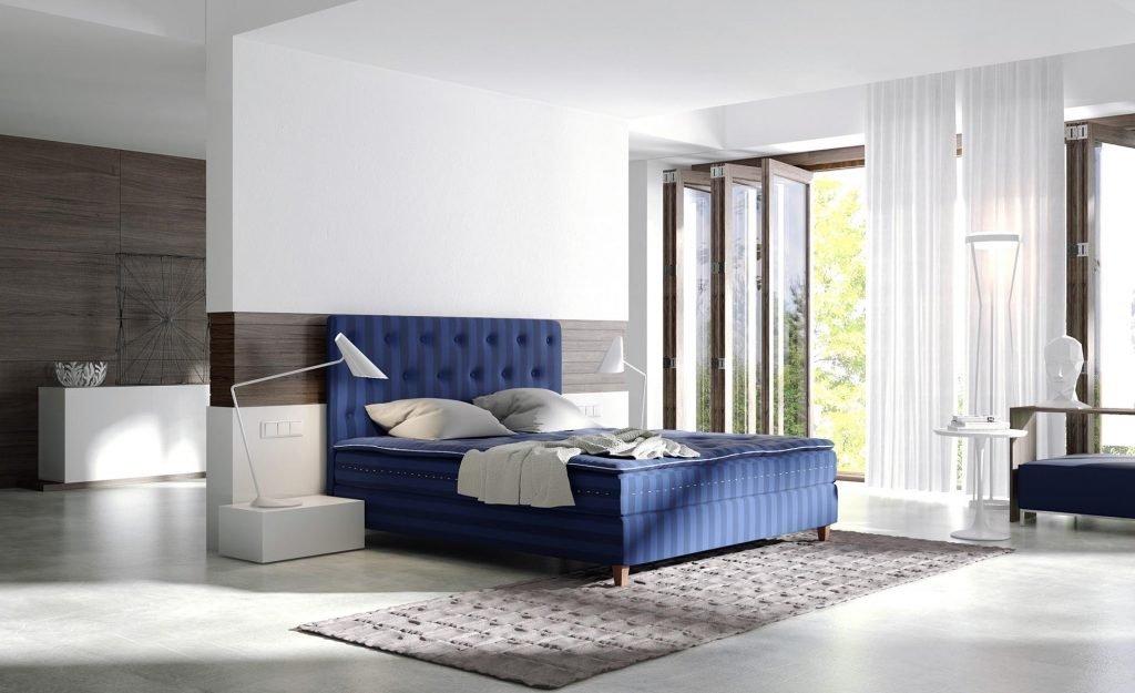 Luxusní postel Saffron Luna vám poskytne grandiózní pocit komfortu exkluzivní třídy. Vysoce pohodlná matrace s jednou vrstvou taštičkového pružinového systému…