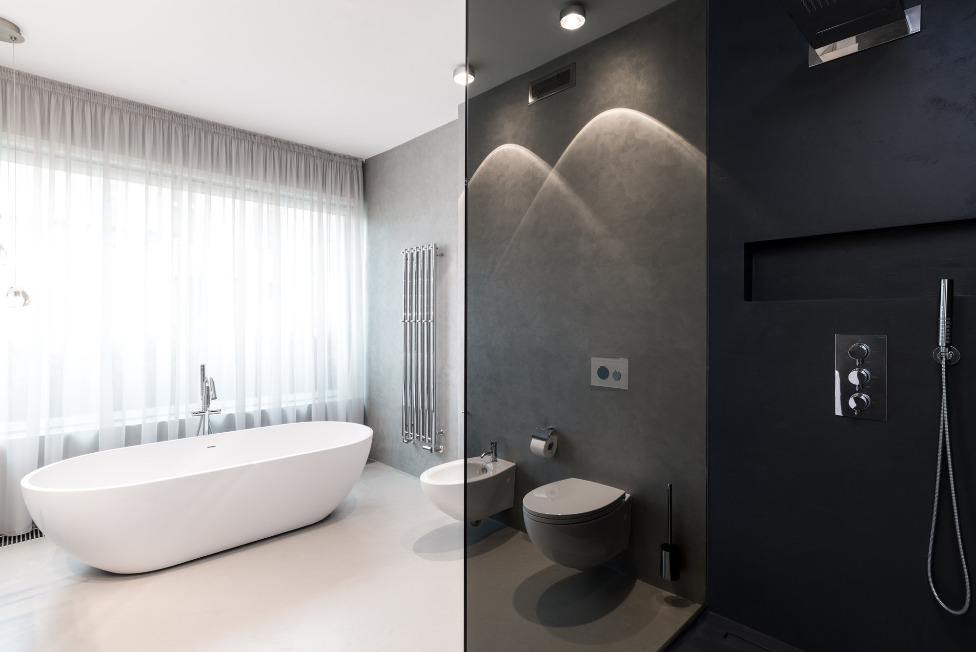 Interiér bytu v novostavbě  Design:OOOOX| Ing. Arch. Radka Valová, ing. Arch. Martin Moravec  Dispozice – byt byl pro klienty připraven ve…