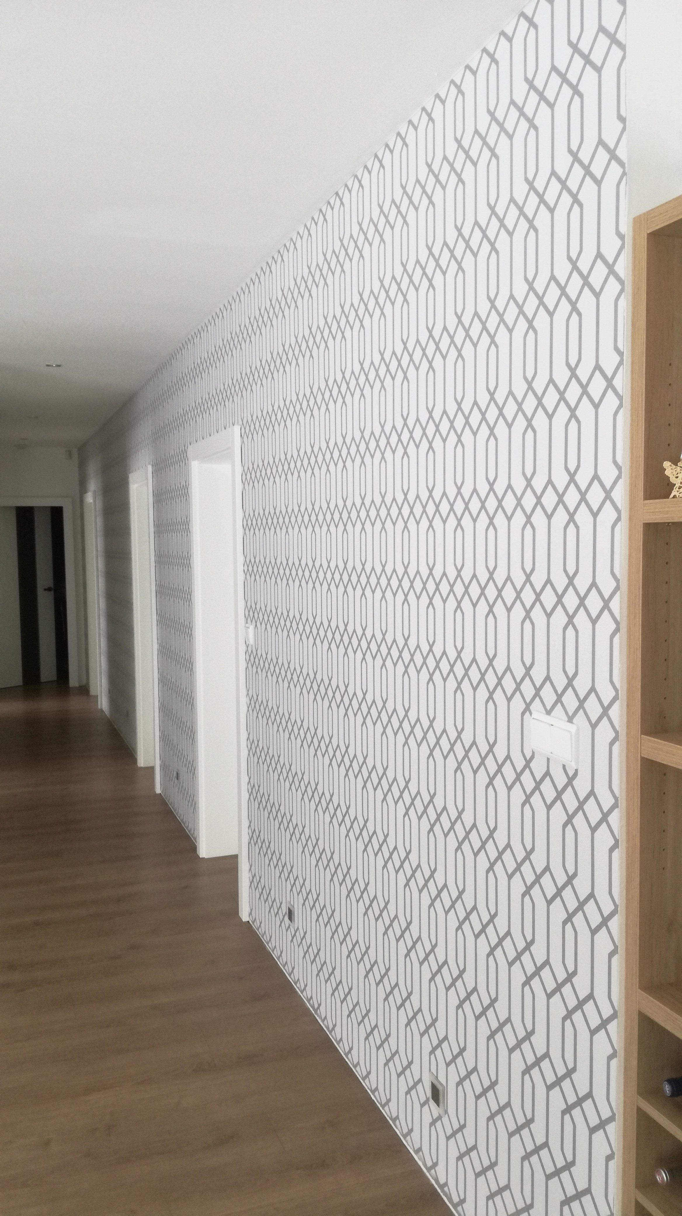 Realizace dekorativní šablonové malby