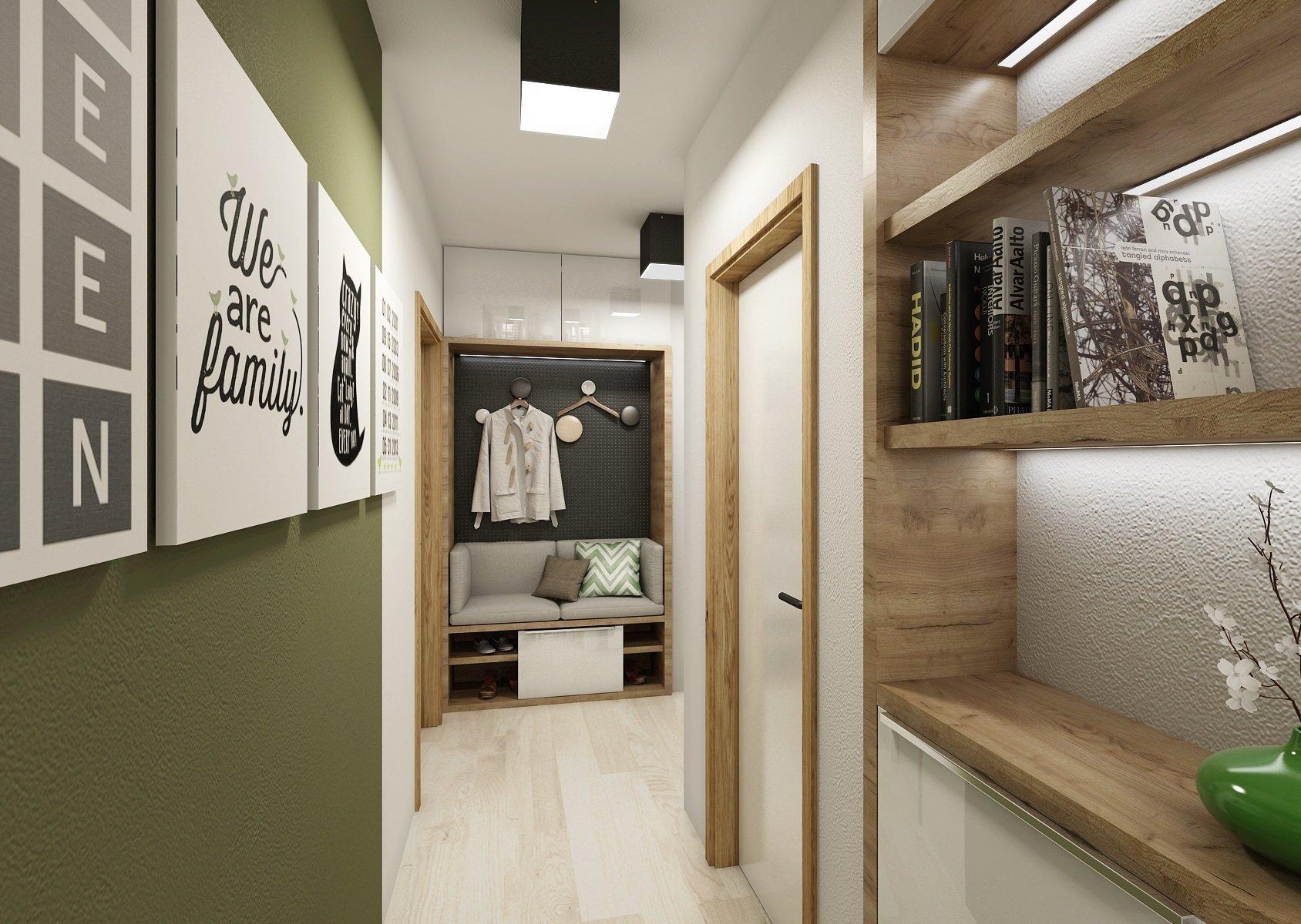 Podkrovní mezonetový byt vlehce industriálním stylu, kde se najde místo i pro kočku. Dub, antracit a bílá jsou hlavní neutrálně barevnou škálou interiéru…