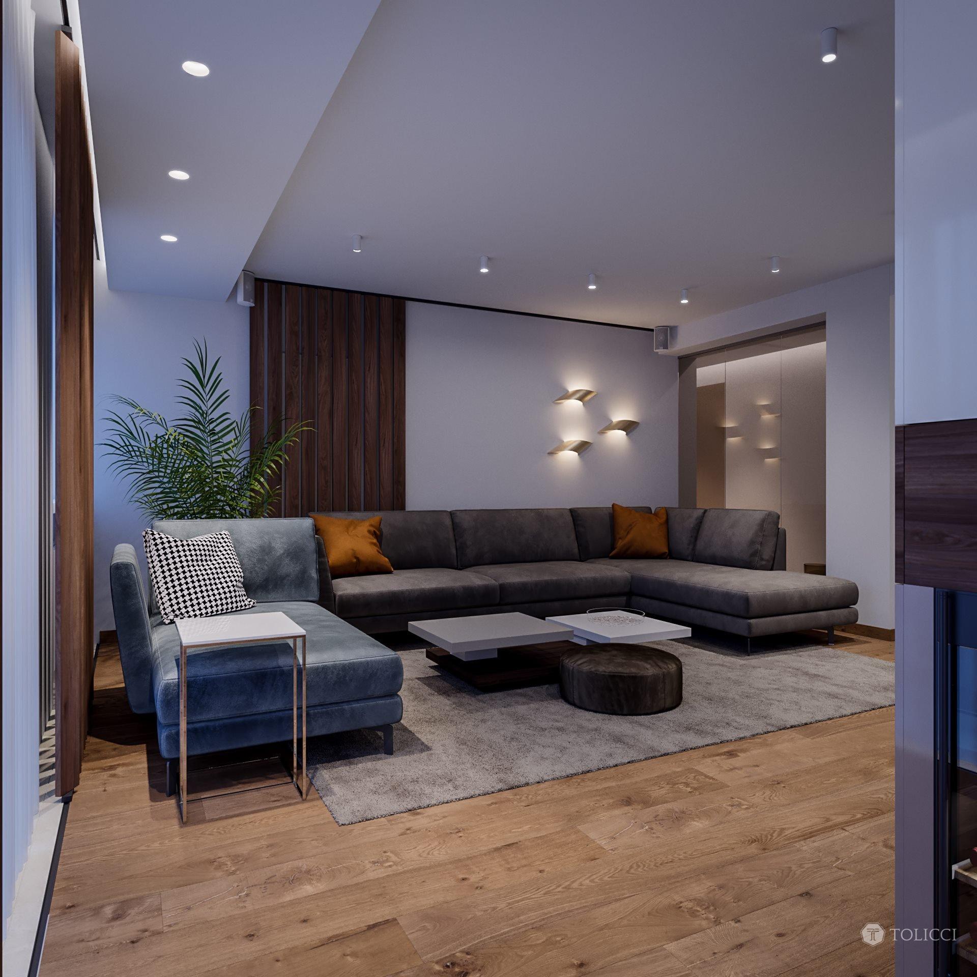 Návrh apartmánu v Bratislave