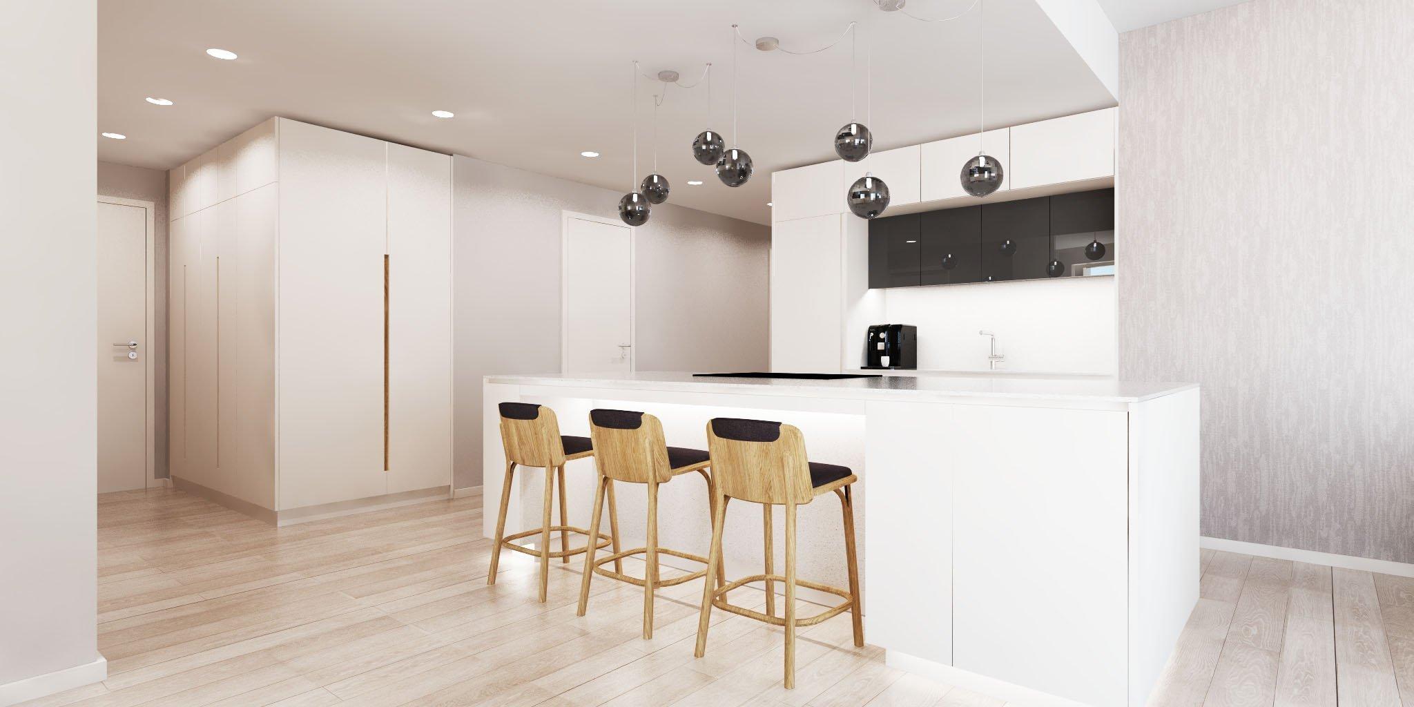 Predstavujeme Vám náš najnovší projekt interiéru bytu vSKY PARK by Zaha Hadid! Nadčasový interiér, originálny dizajn a dôraz kladený na funkčnosť…
