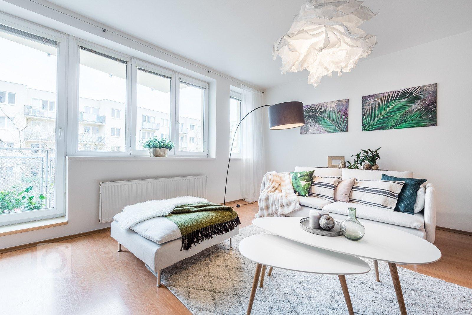 Obývací pokoj po Home Stagingu