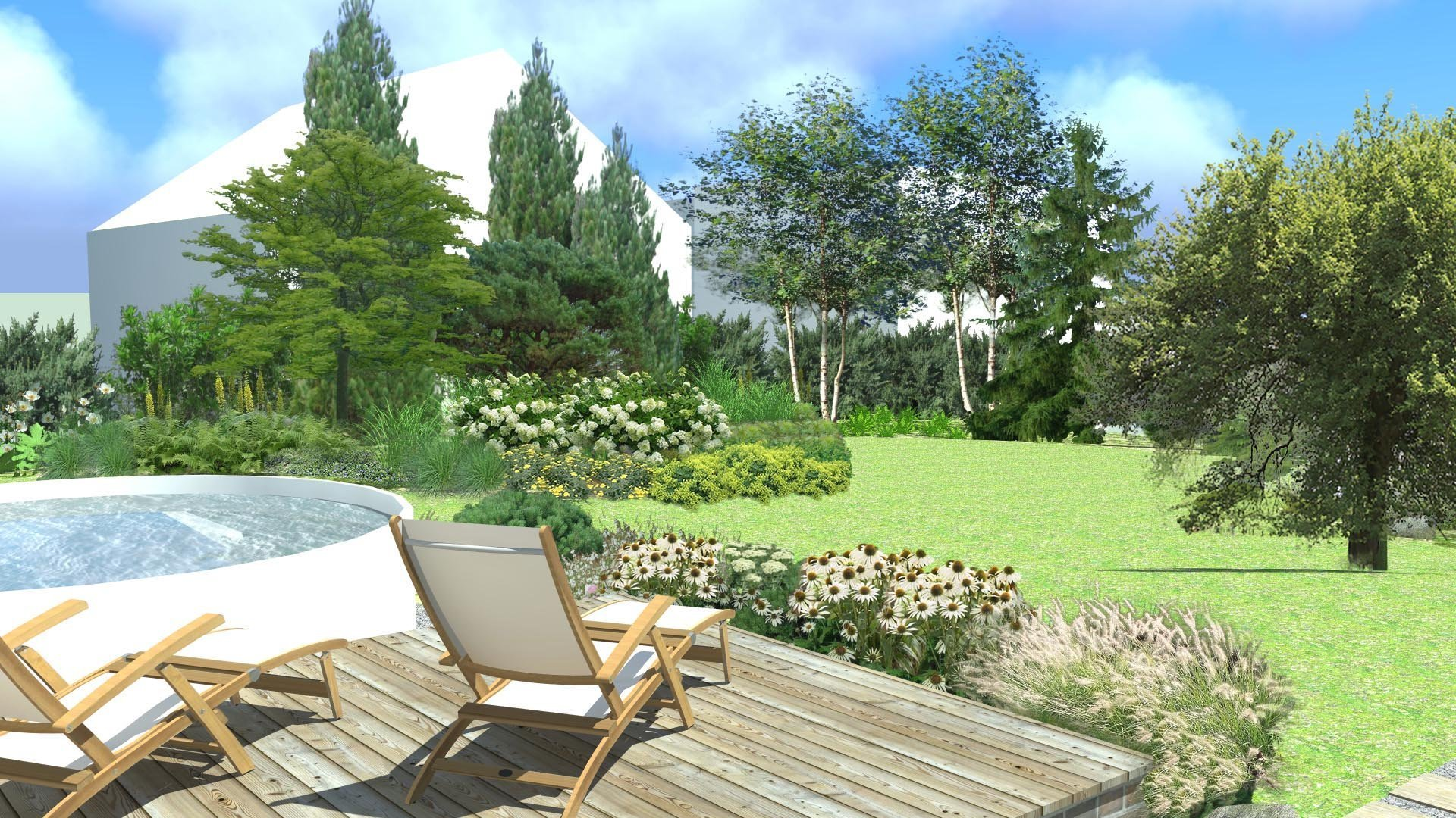 Zahrada v Podještí se nachází na maloměstě a majitelka si přála mít zahradu s pasážemi i hodně přírodními, což jí návrh zahrady splnil především v okolí tůňky.…