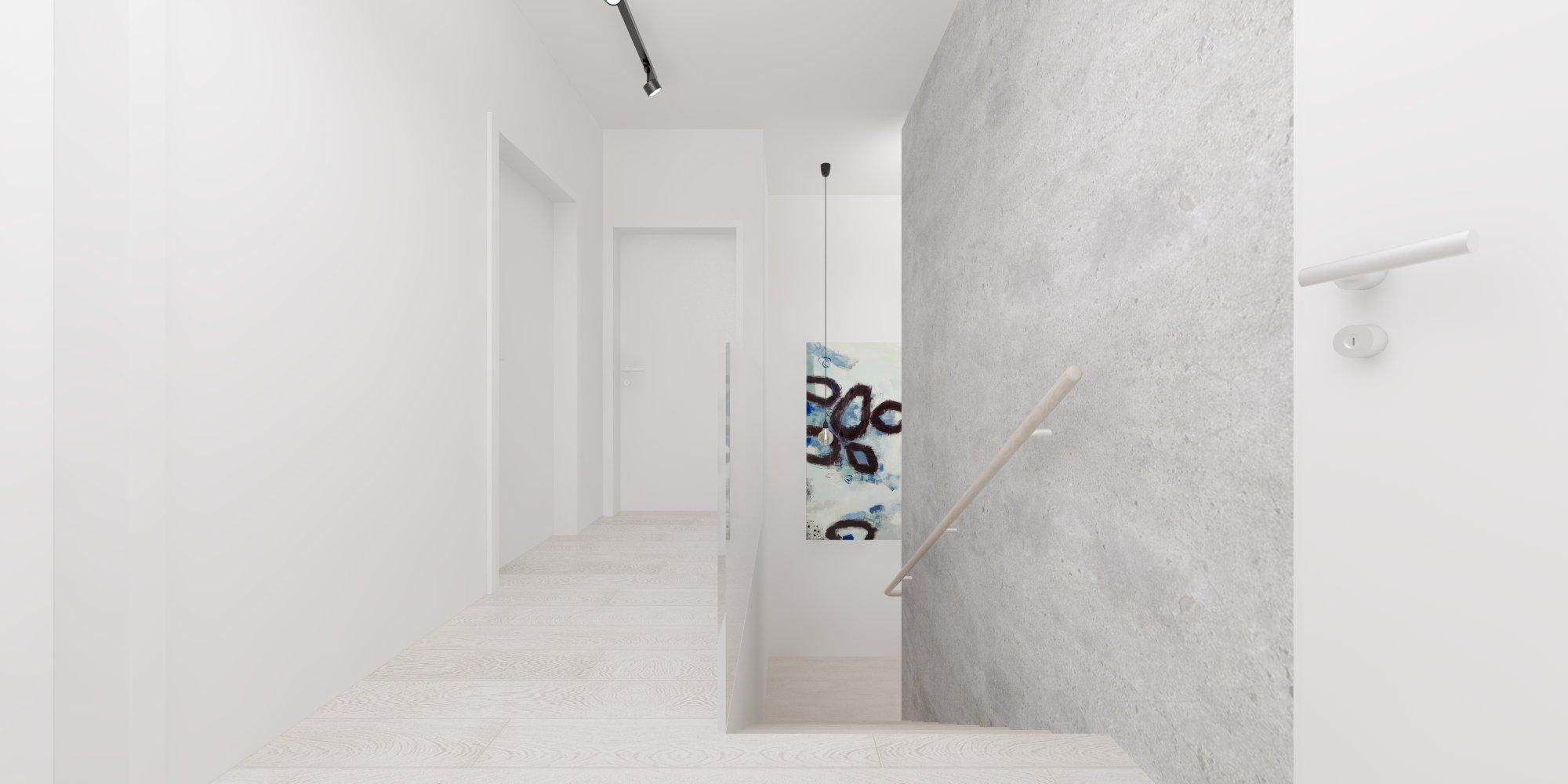 Návrh interiéru rodinného domu v blízkosti Bratislavy sa pohráva s odtieňmi šedej, od najsvetlejšej bielej po najtmavšiu čiernu. Harmóniu tónov len miestami s…