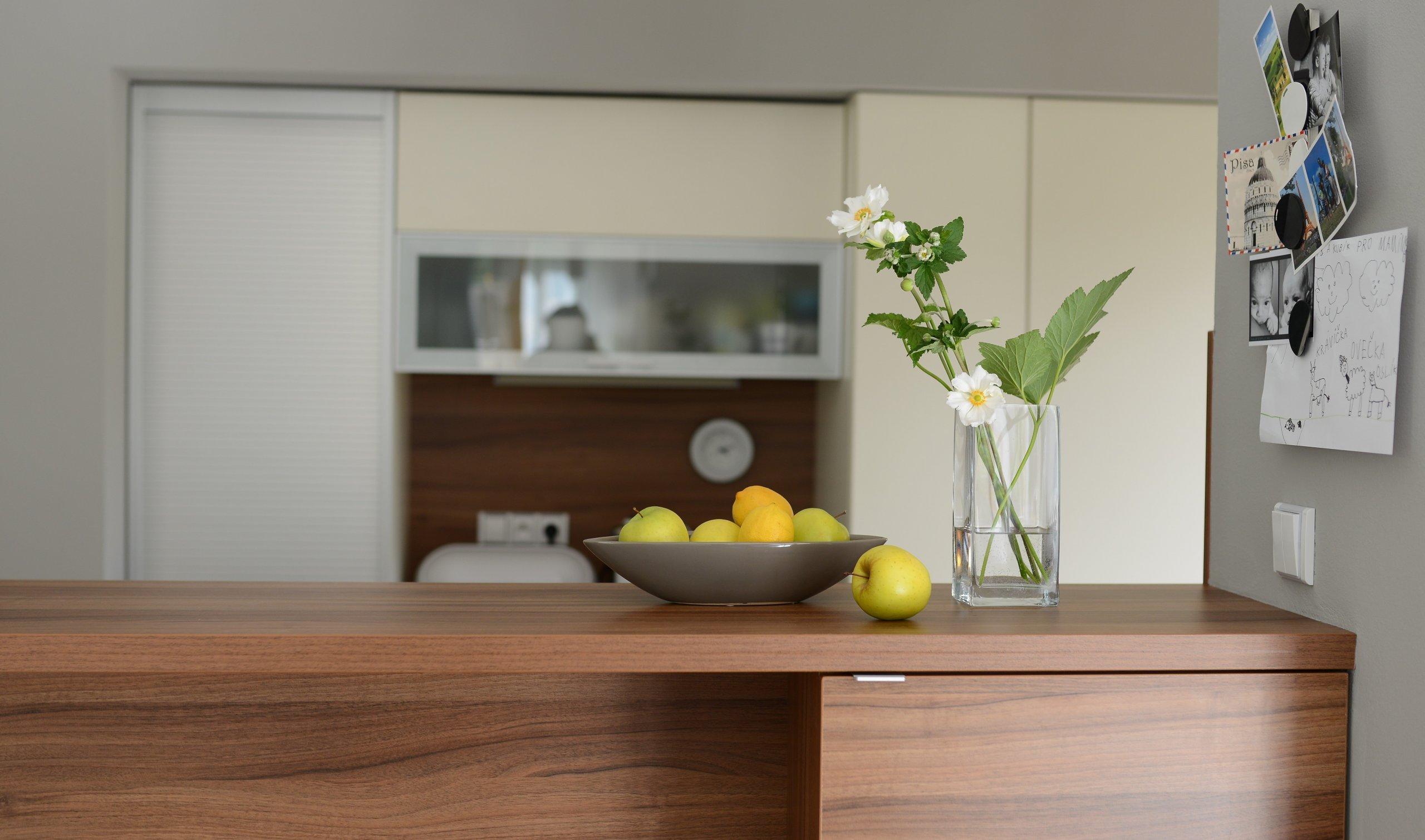 Obytný prostor s kuchyní