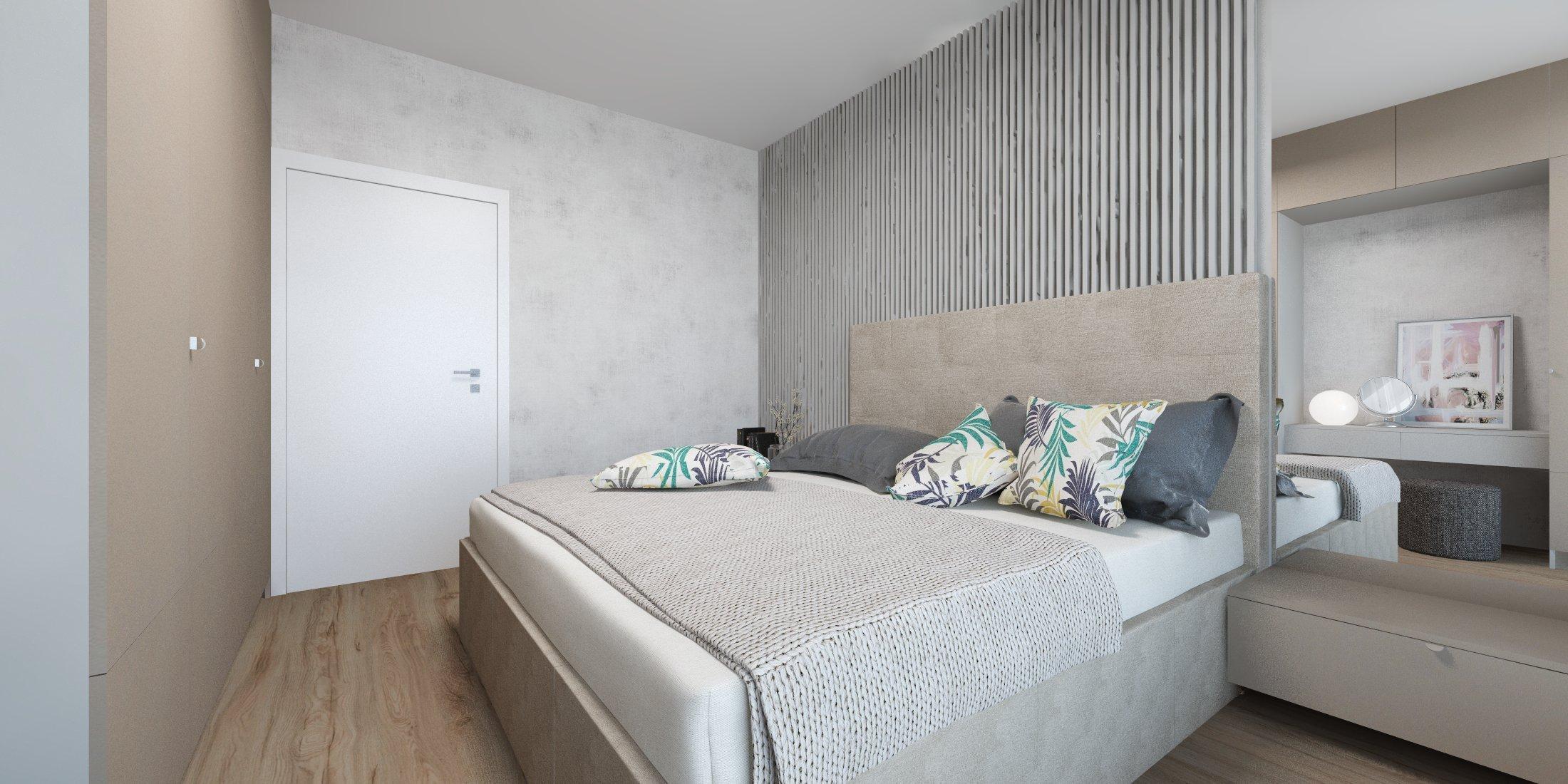 Interiér bytu v Slnečniciach, dvojizbové byty sú dnes najčastejšou voľbou mladých rodín. Vyhovujú dvojici aj rodinke s malým dieťaťom a menší byt rovná sa…