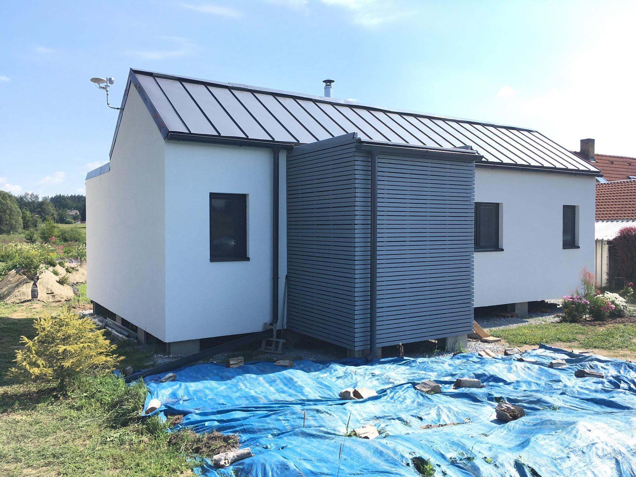 Dřevostavbu vycházející zmodulu EASY 48 jsme stavěli vroce 2018 pro paní majitelku, která je výtvarnicí a ve velké míře se podílela na finální…