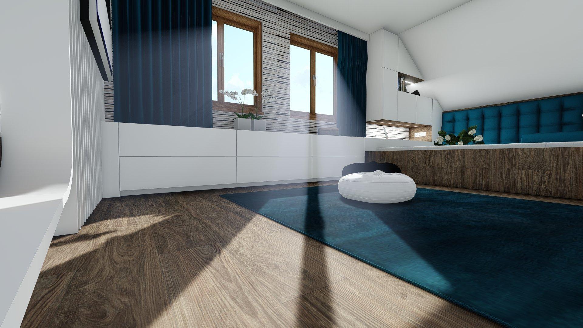 Návrh interiéru srubu v Loučné pod Klínovcem přináší velkou část celé realizace zhotovené na zakázku. Jedná se o zajištění potřeb dostatečných spacích ploch…