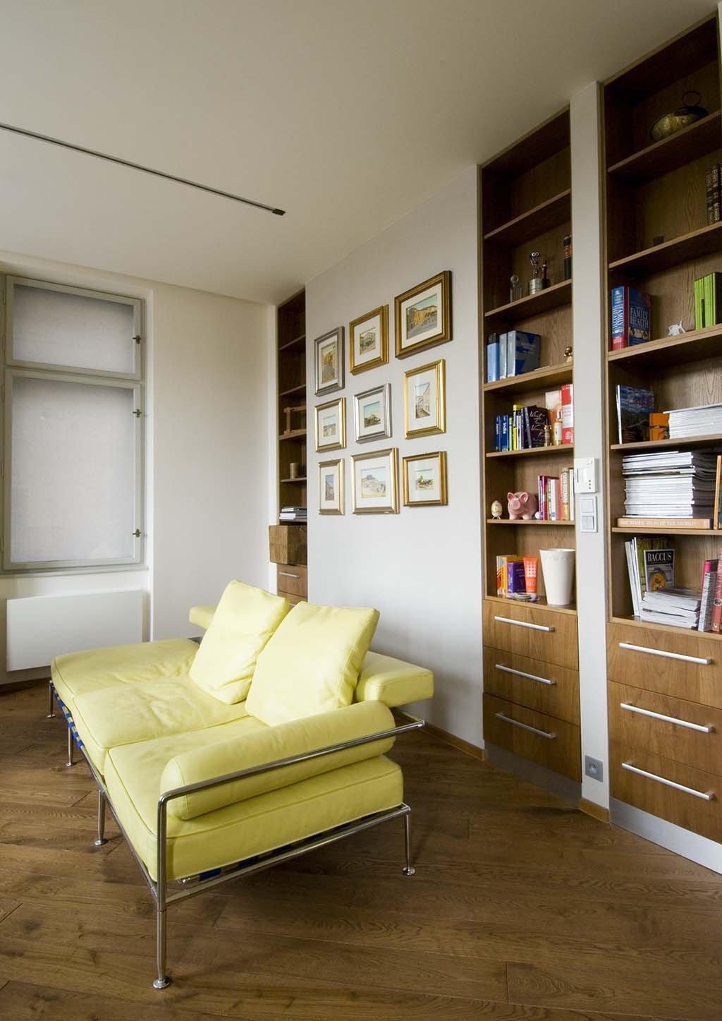 Rekonstrukce bytu v městské zástavbě + kompletní realizace.