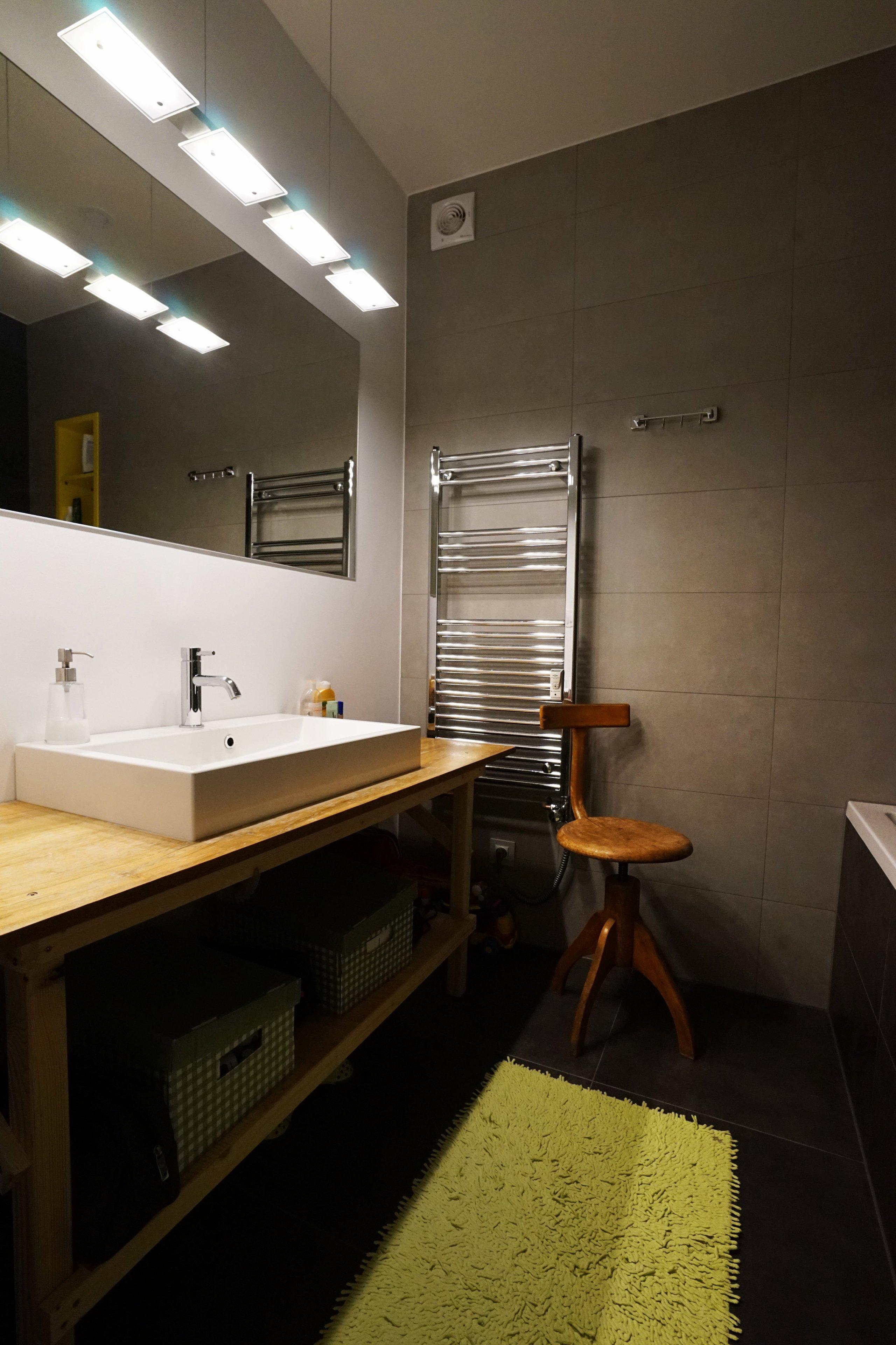 Návrh rekonstrukce malého pražského bytu 60m2 na diposzici 3+kk.