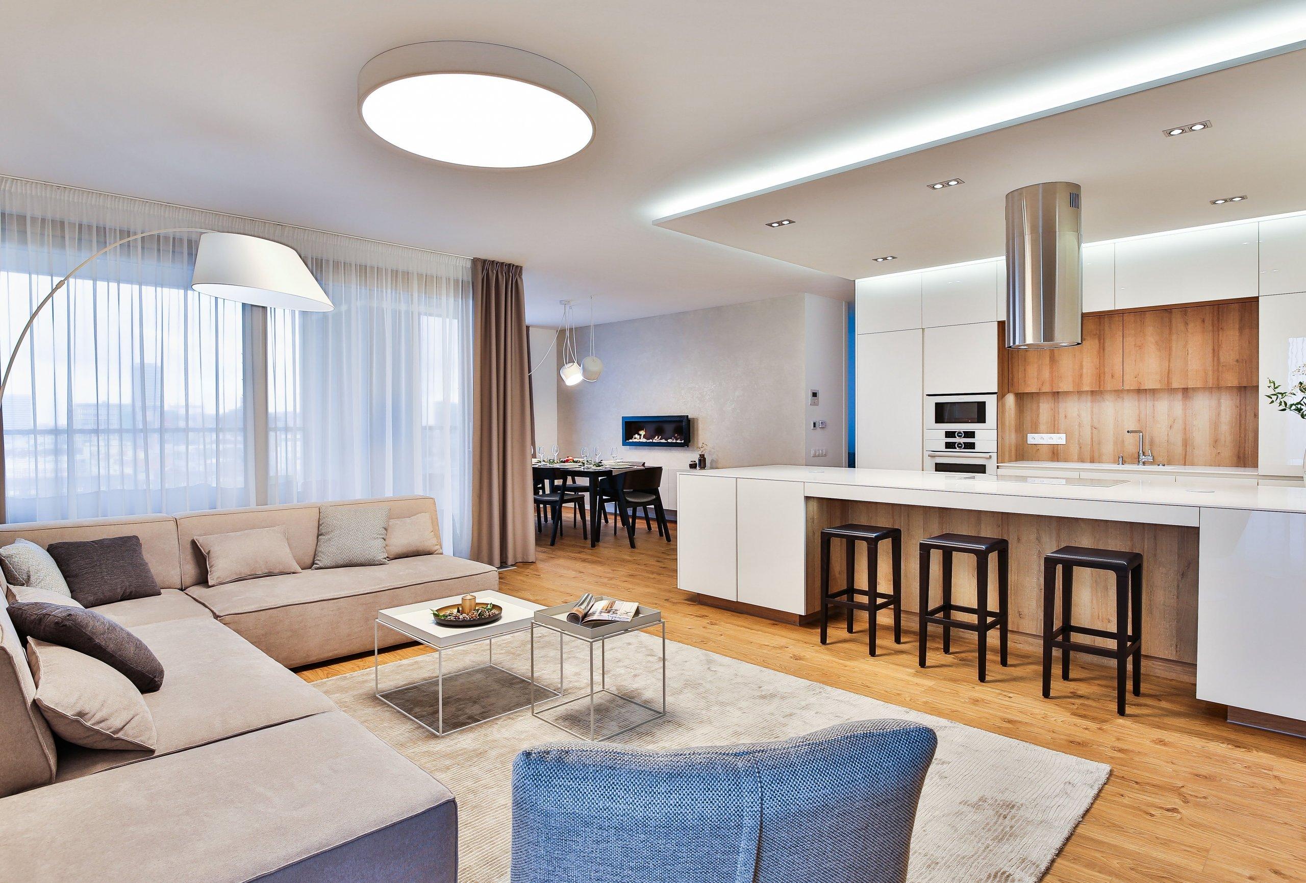Denná zóna bytu