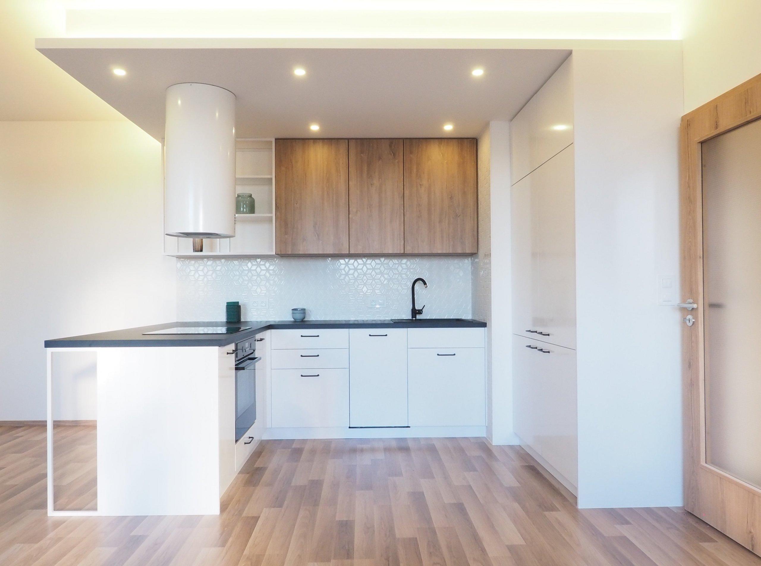 Home staging bytu v novostavbě developerského projektu.