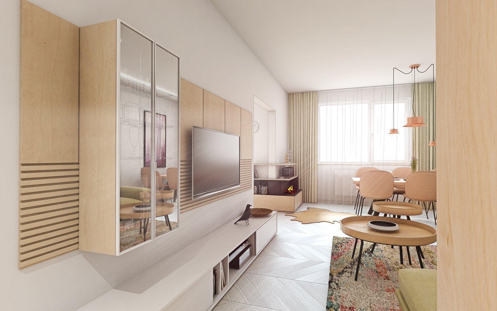 Z obyčajného panelákového bytu sa podarilo vytvoriť zaujímavý koncept interiéru. Trochuromantickýa zároveňso štipkou španielskeho…
