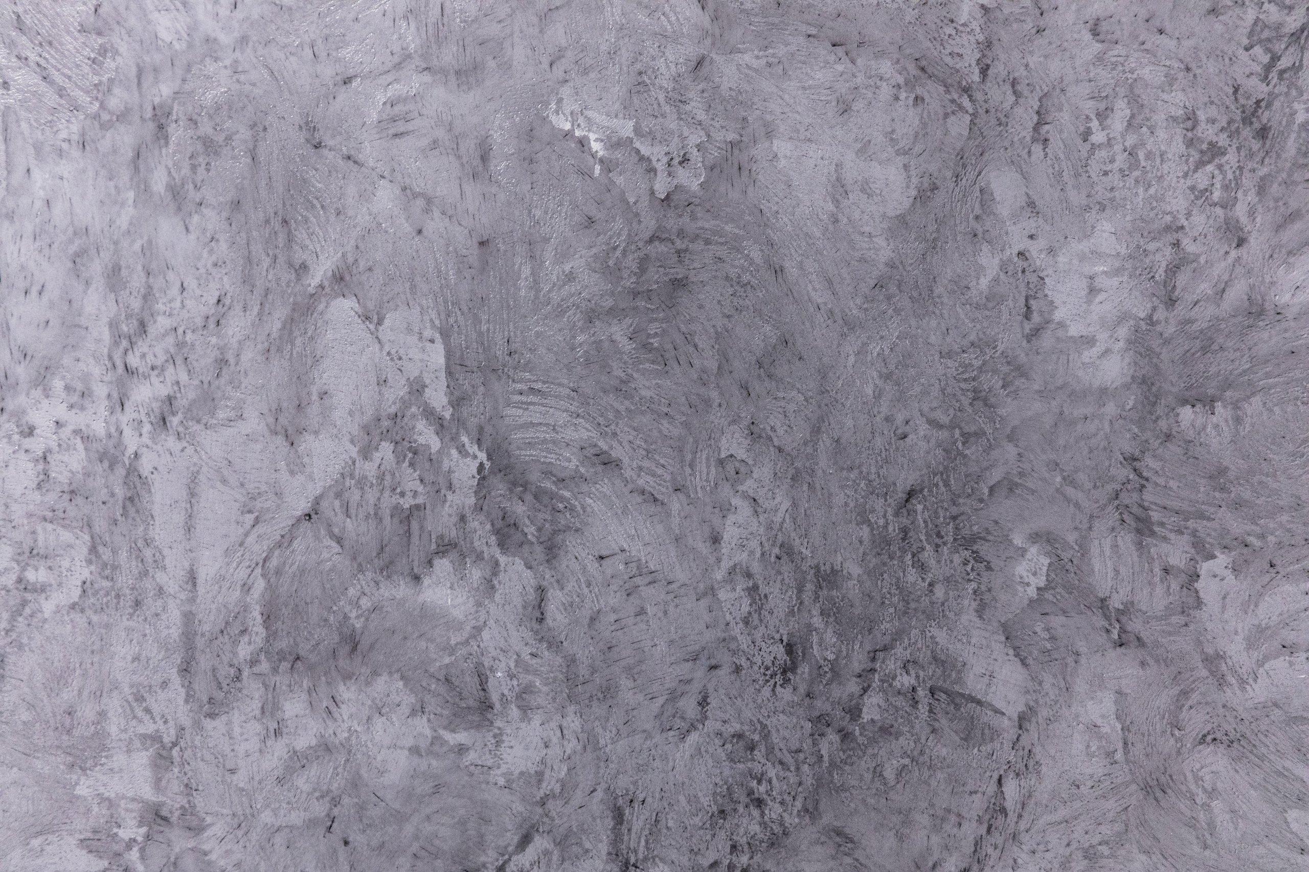 """Realizace koupelny s WC ve stylu """"lesklý beton"""". Dekorna zdi je nepravidelný s viditelnými nerovnostmi. Podlaha je rovná. Spučástí projektu…"""