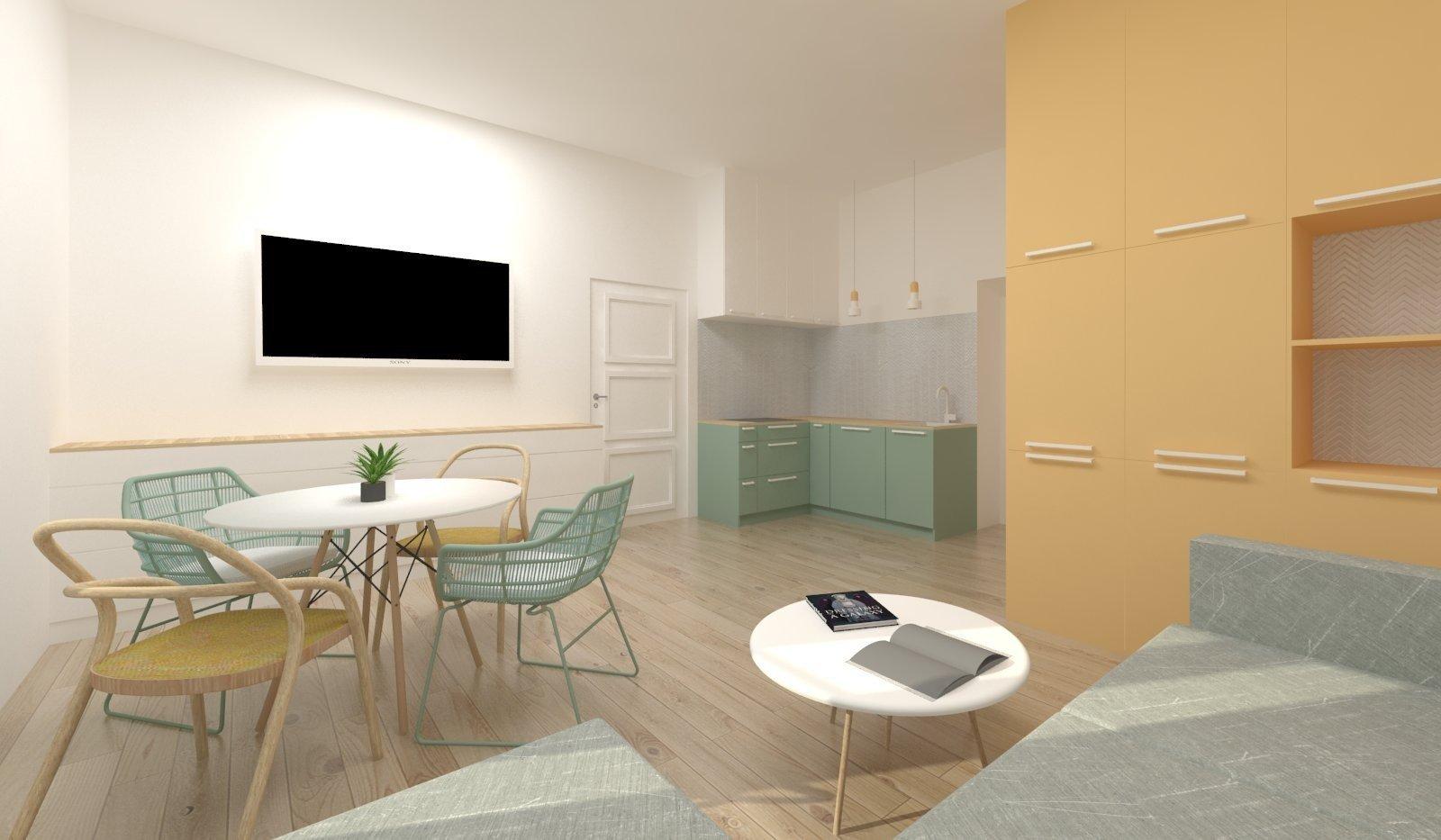 Starý byt včinžovním domě prošel kompletní rekonstrukcí. Cílem tohoto lowcost projektu bylo spoužitím velmi limitovaných prostředků vytvořit…
