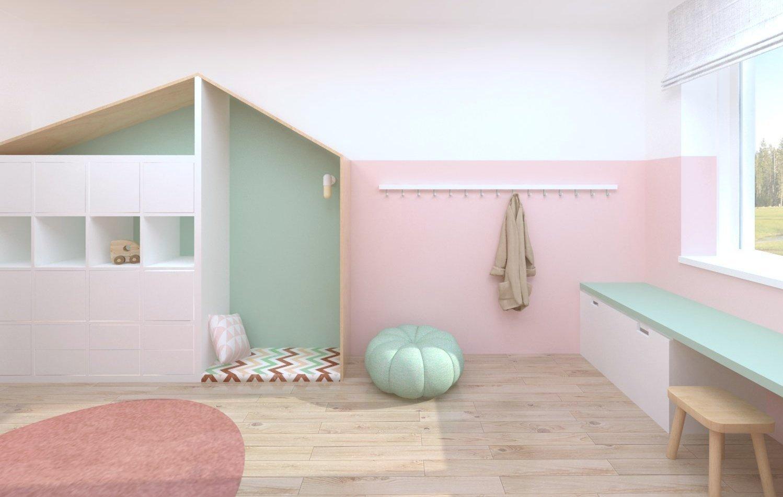 Dětský pokoj pro malou holčičku se rodiče rozhodli zařídit voblíbené růžové barvě. Pokojíček pro předškolačku je vybaven zejména levnějším kupovaným…
