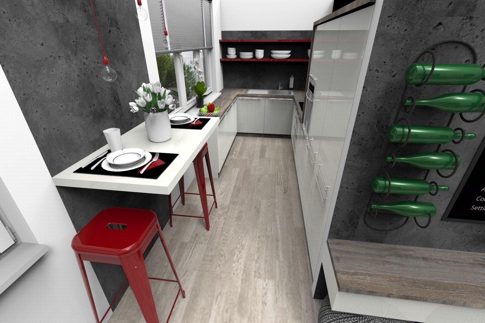 Vizualizace menšího bytu
