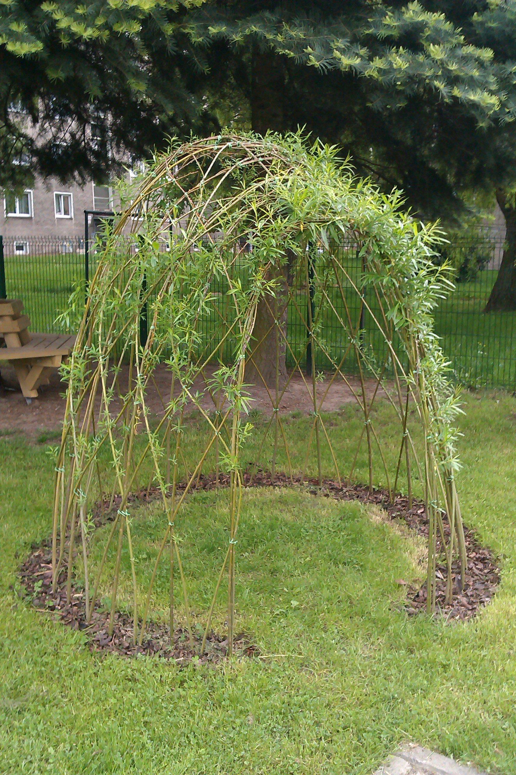 K tomu, aby i na vaší zahradě stála živávrbová stavba, potřebujete proutí a šikovné ruce. A nebo oslovte naší firmu