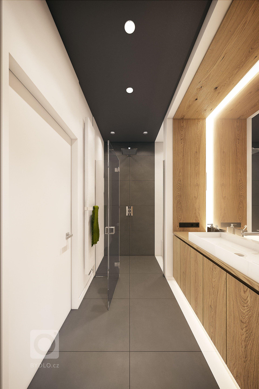 Tento moderní interiér je mixem různých stylů, zaujme nejen neobvyklou barevnou kombinací šedé a zelené.