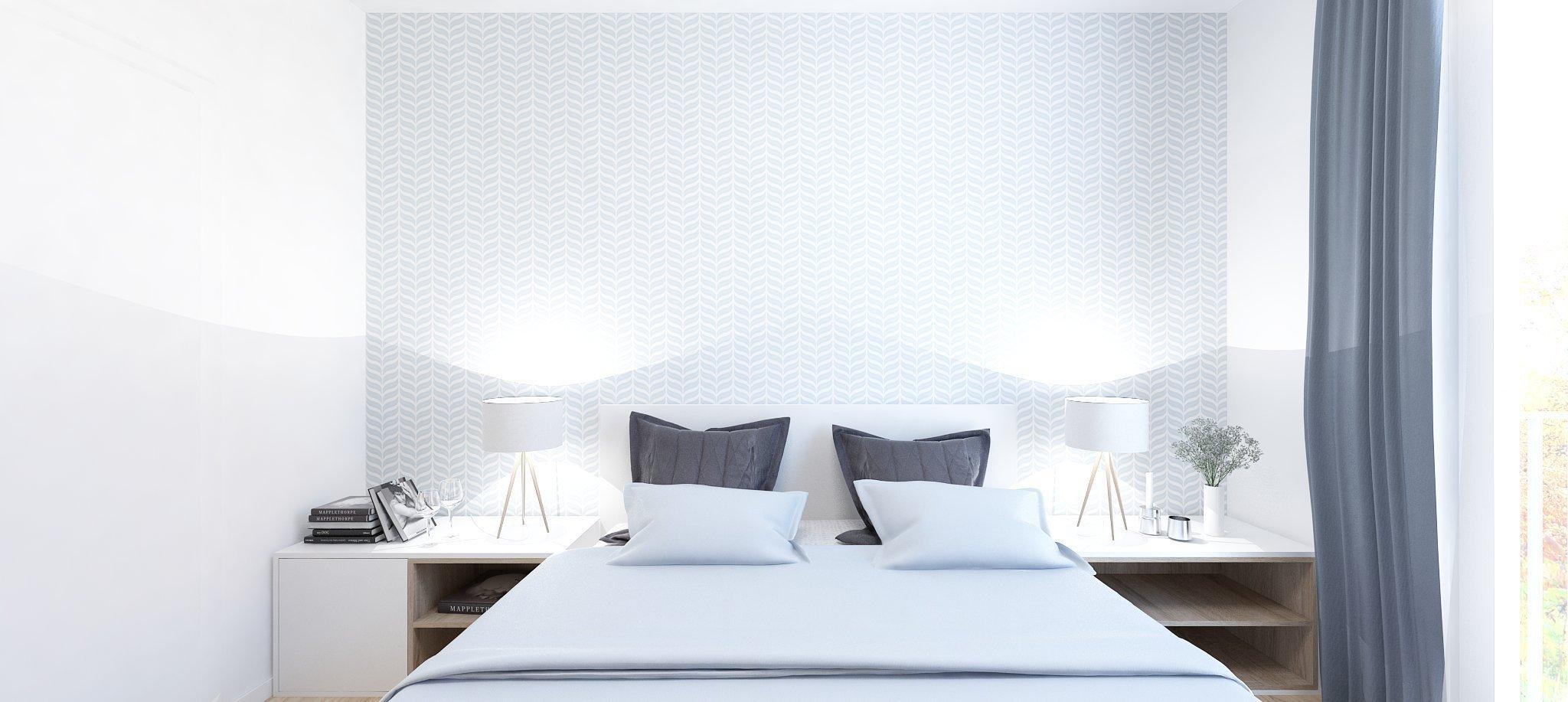 Nový projekt v obľúbenom komplexe Slnečnice v sebe spája eleganciu belasej farby s drevom. Biele steny oživujú tapety s jemným vzorom či betónová stierka.…