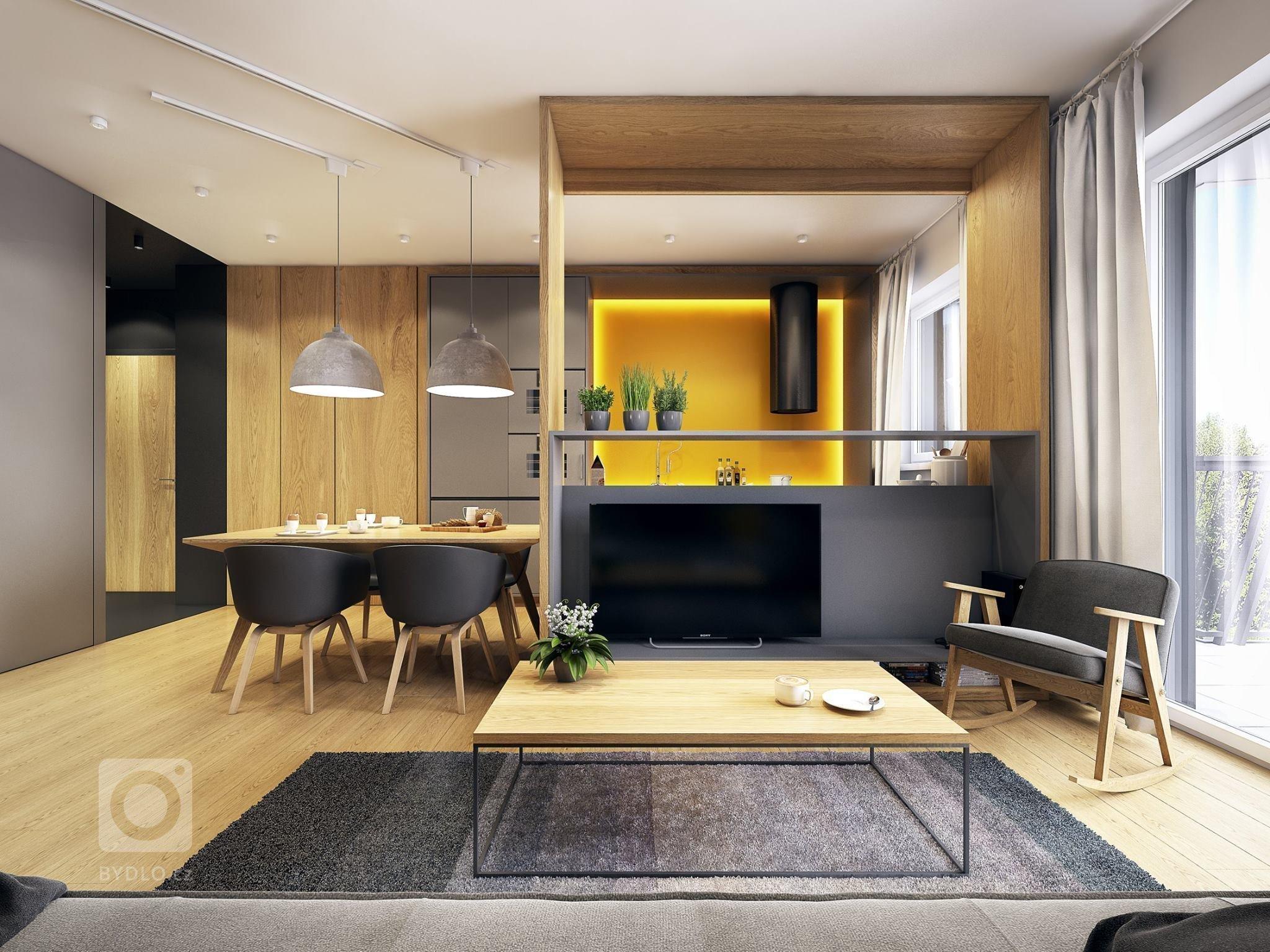 Skandinávií inspirovaný interiér