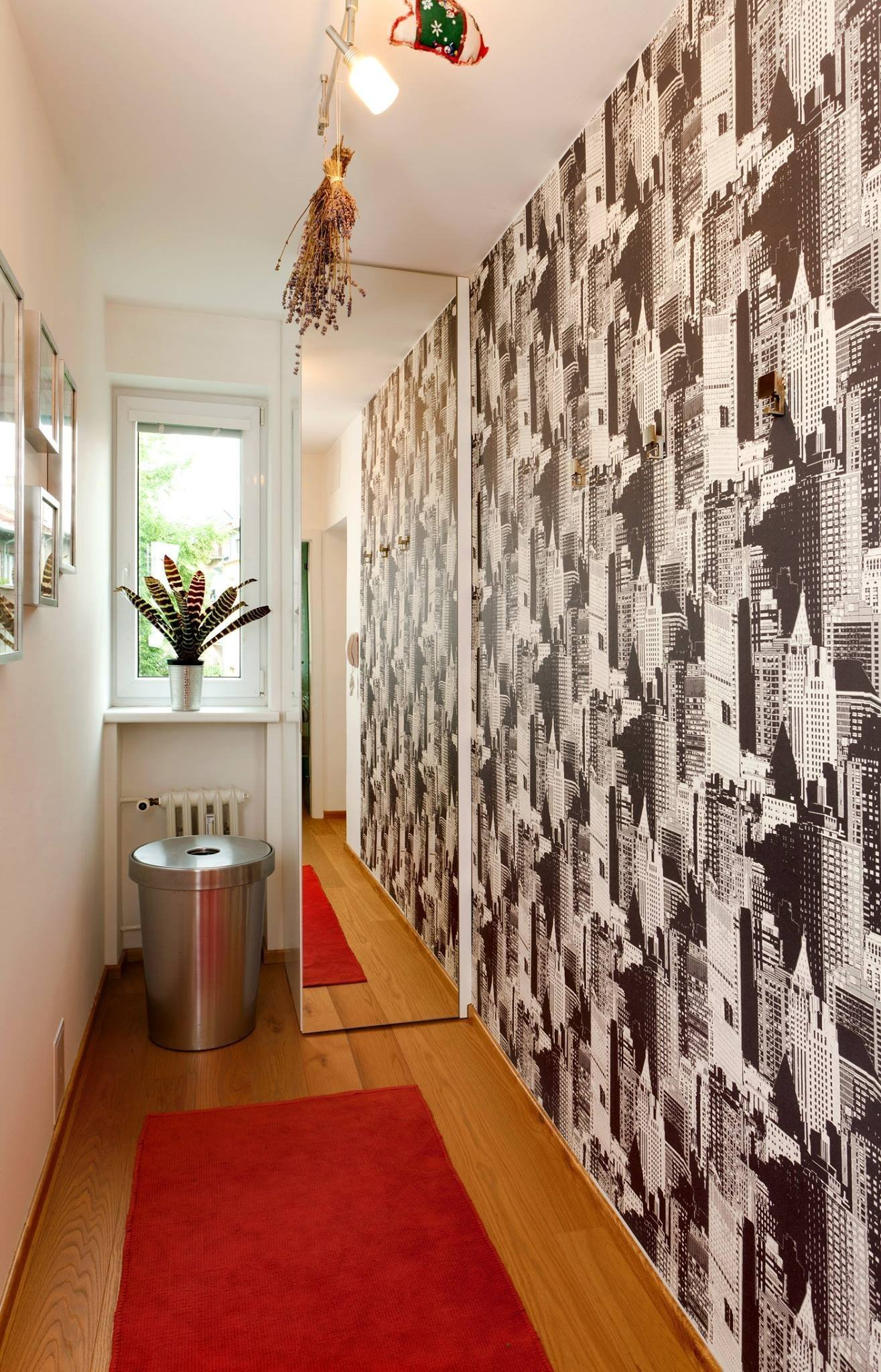Moderní interiér s bambusem