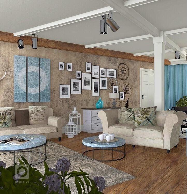 """Návrh interiérus """"příchutí""""vintage i lehce industriálního stylu byl vytvořen s důrazem kladeným na maximální využití prostor pro kuchyň a…"""