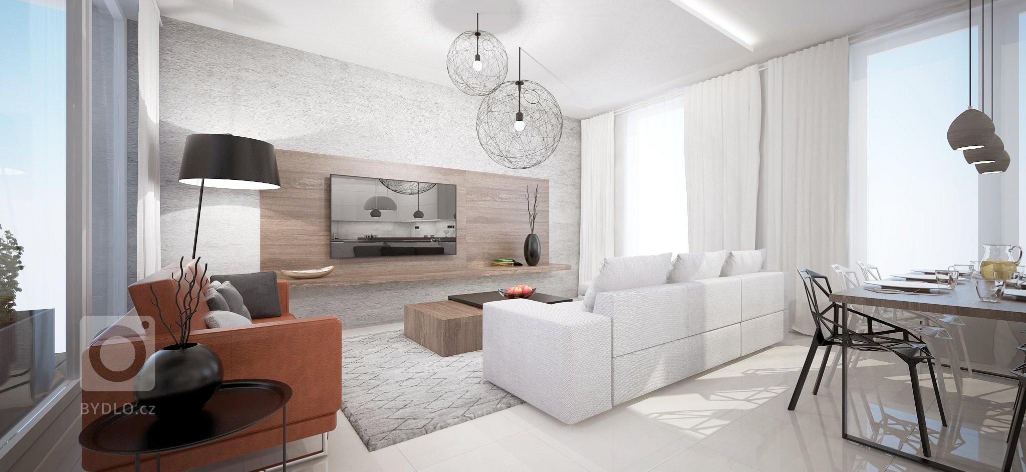 Interiér 5-izbového mezonetového bytu vBratislavskej Dúbravke je navrhnutý vmodernom minimalistickom duchu. Materiálovo sme interiér koncipovali v…