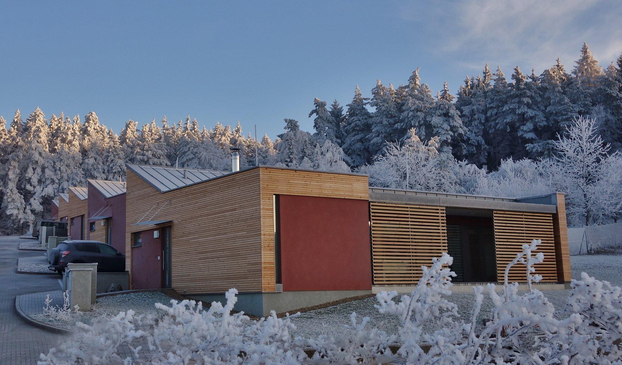 Řadové domy u lesa