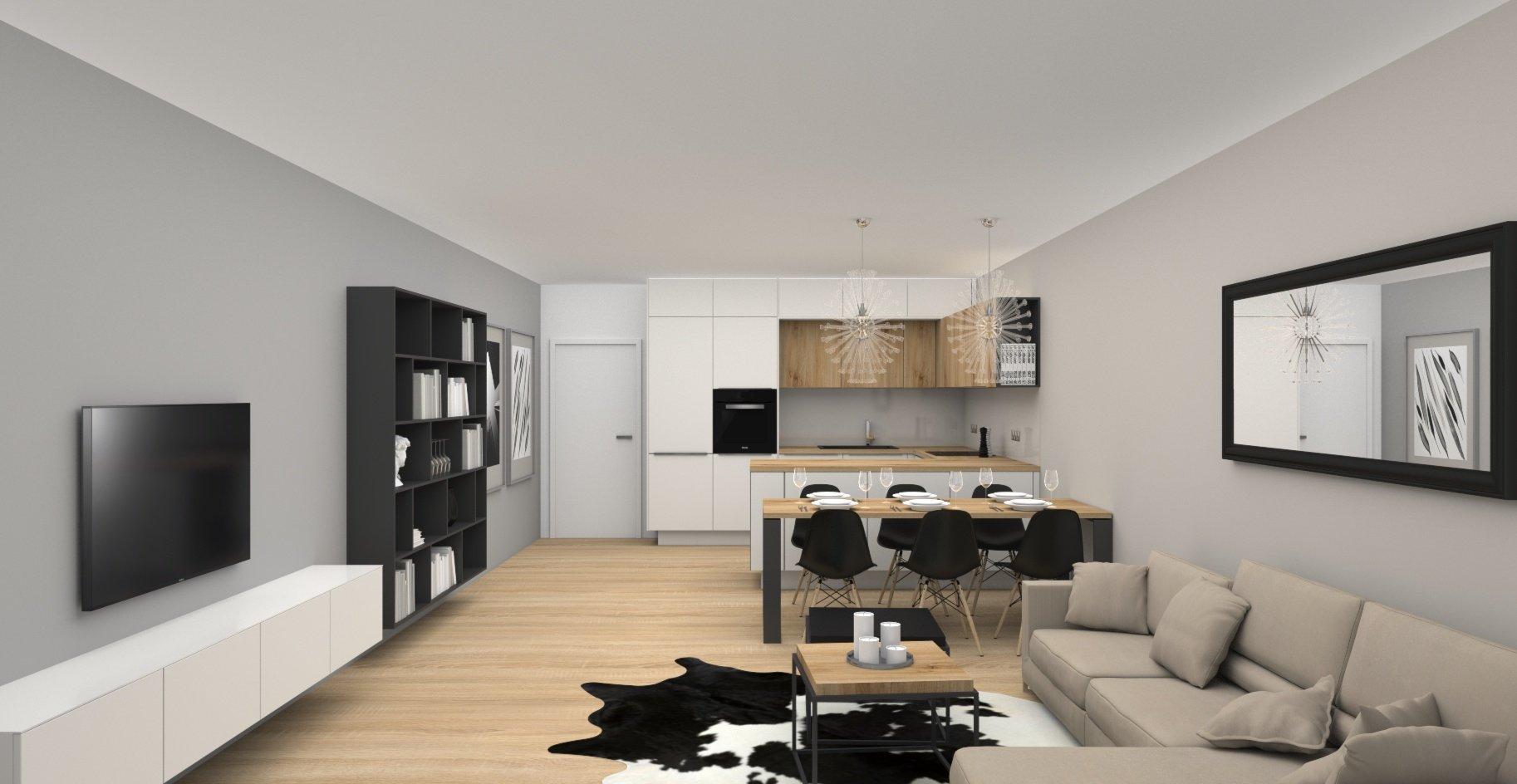Návrh interiéru bytu