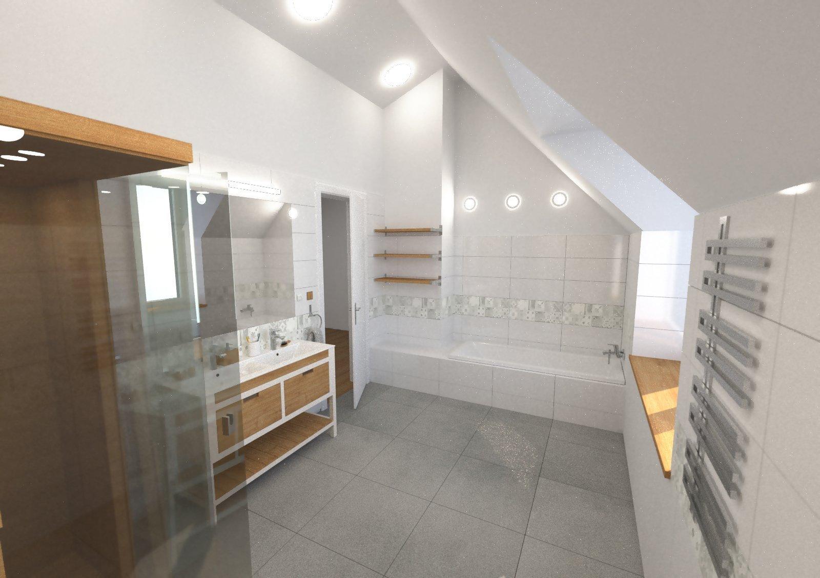 Koupelna ve 2.np