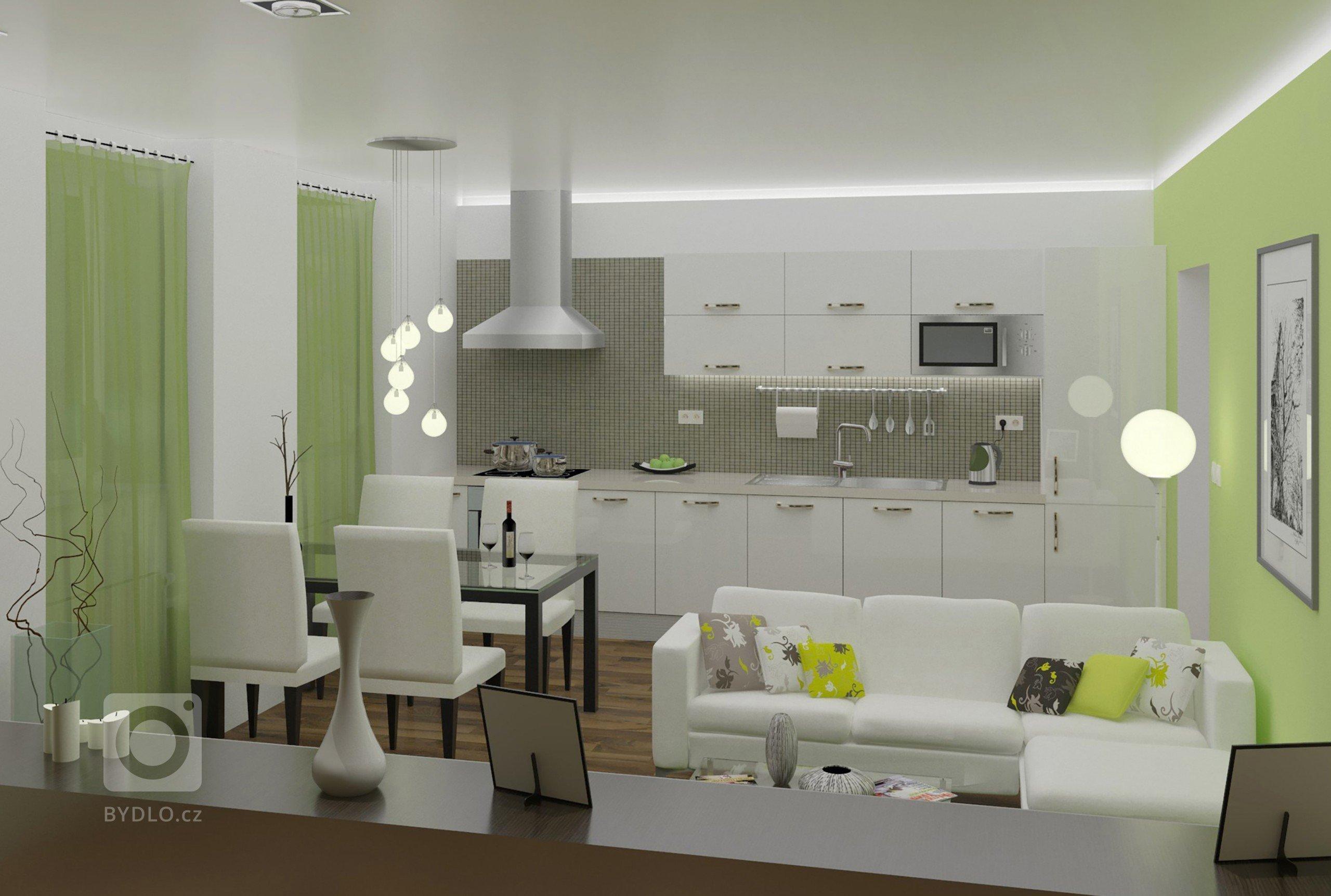 Interiér bytu Třešť