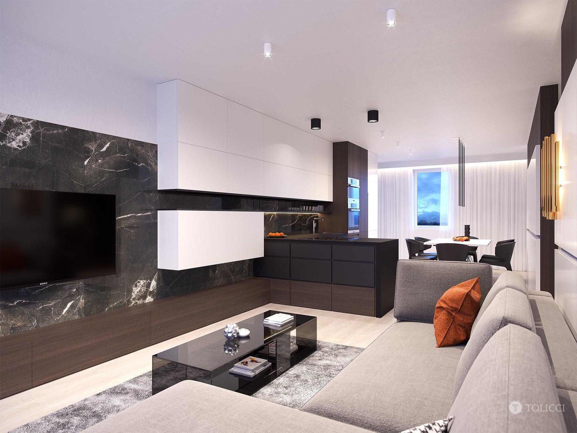 Cieľom návrhu bolo vytvorenie vzorového interiéru bytu pre developerský projekt Mierová, Bratislava. Dizajn odráža návrh elegantného moderného interiéru…